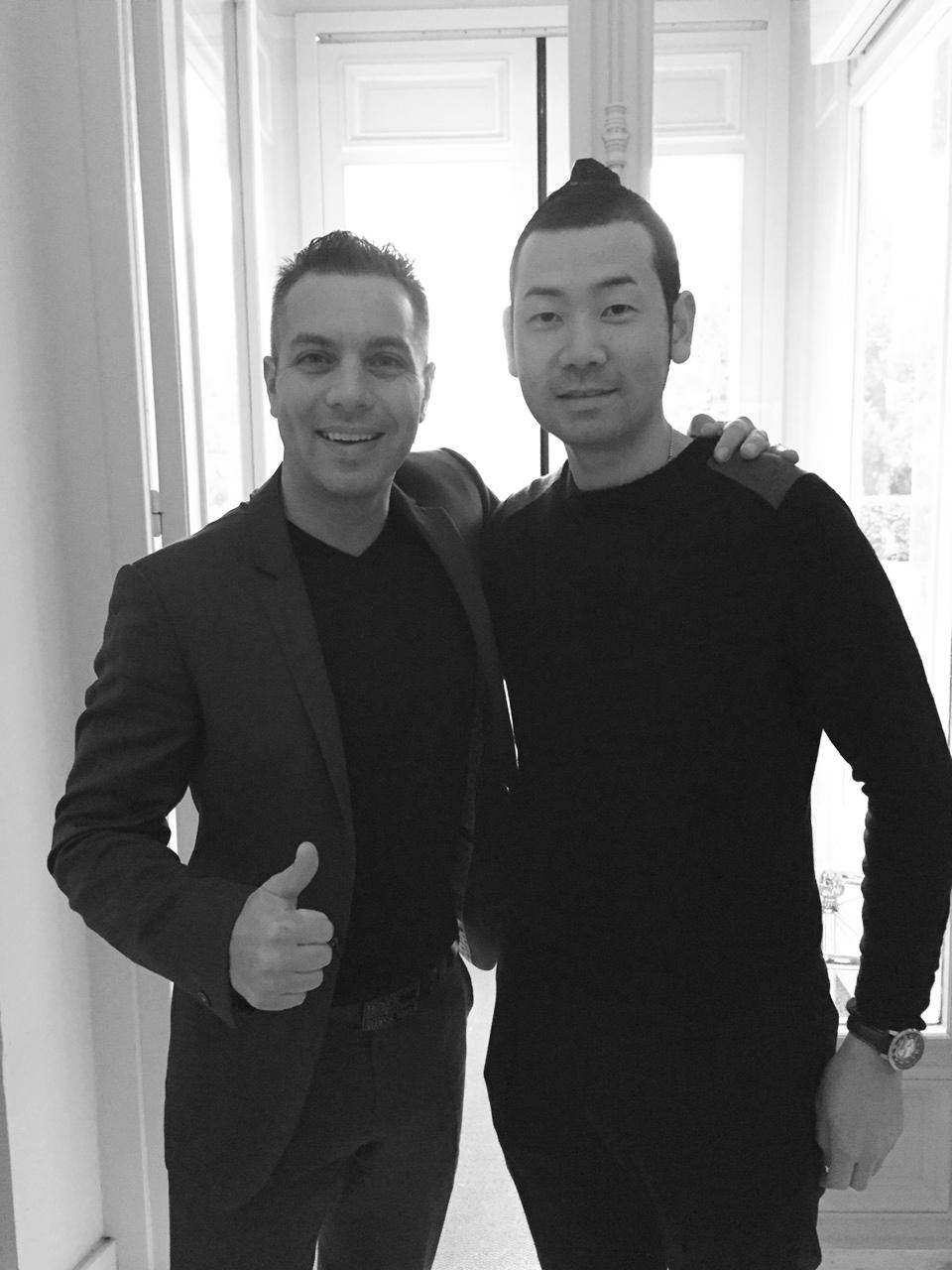 Avec Noriyuki Hamada, Chef du Restaurant Yukawatan au Japon.