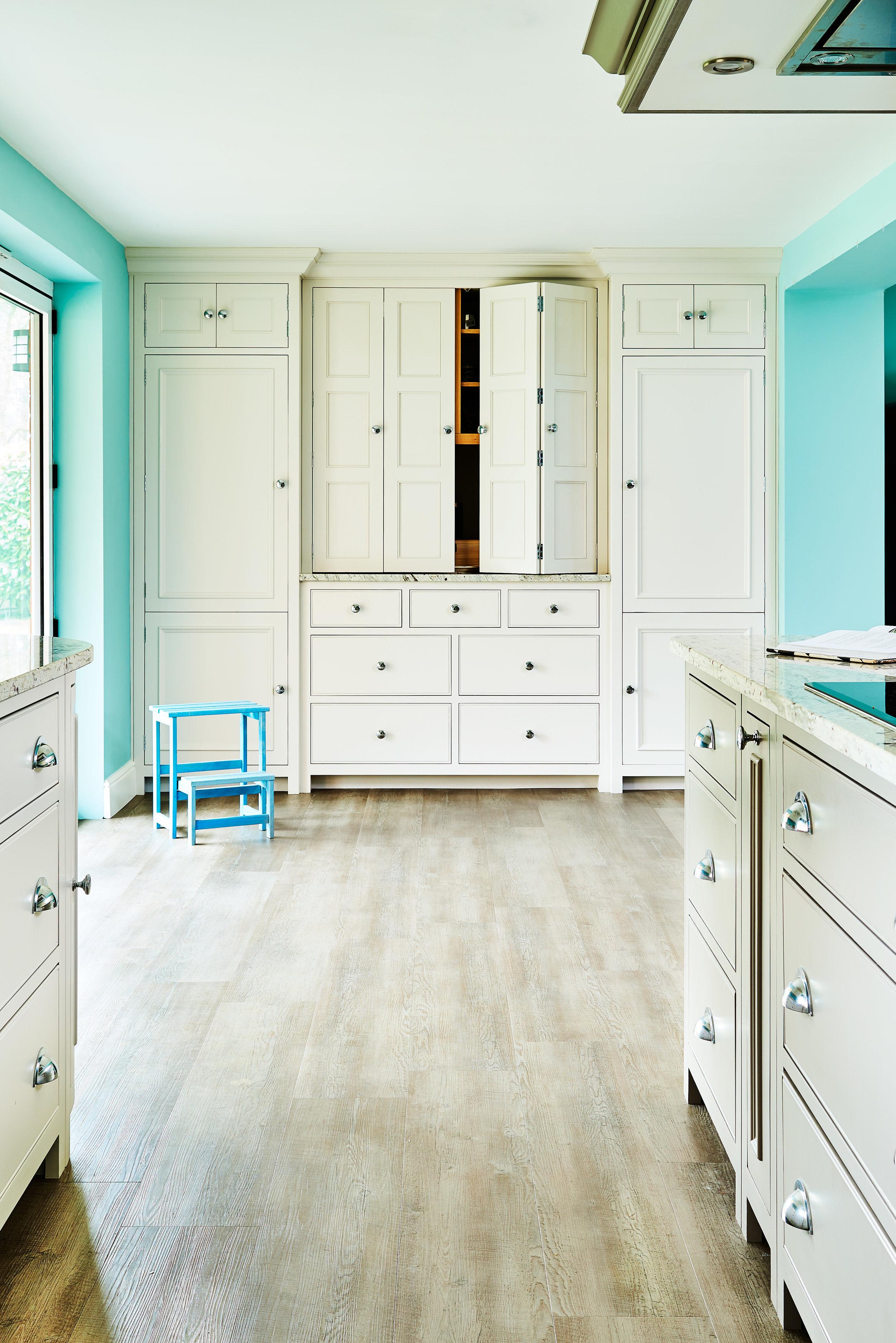 Ben Heath Bespoke piece in Chichester style to sit with their Neptune kitchen