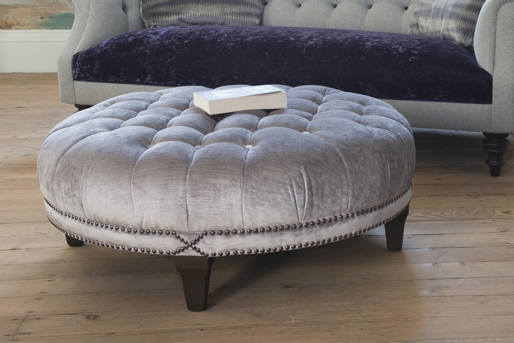 Boothby Round Ottoman  Prices start from £1150
