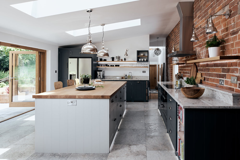 Bespoke kitchens - Making kitchens that look and feel like pieces of furniture, designed to be used and enjoyed for many years is, without doubt our speciality. Learn More >