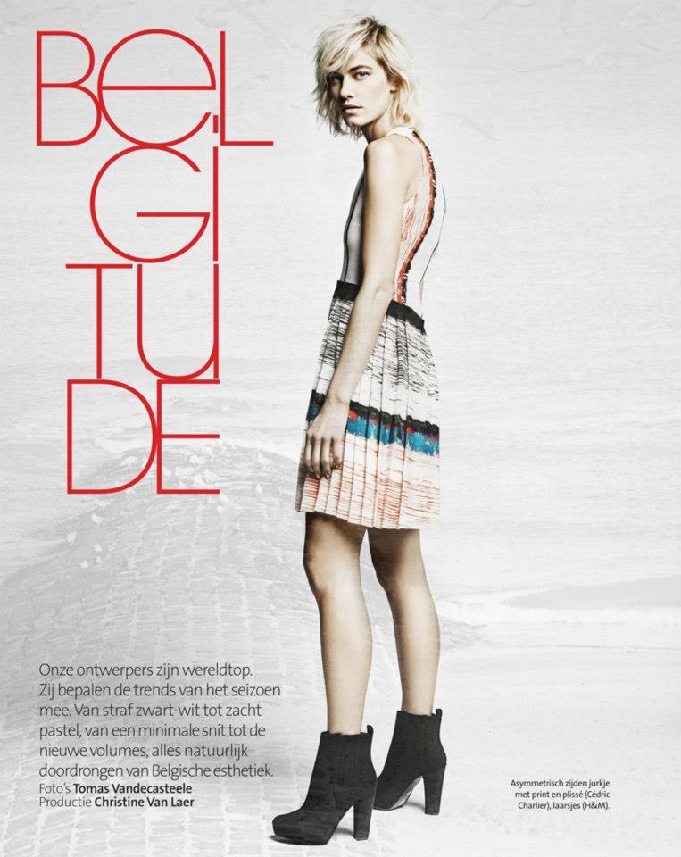 Delfine Bafort for Marie Claire