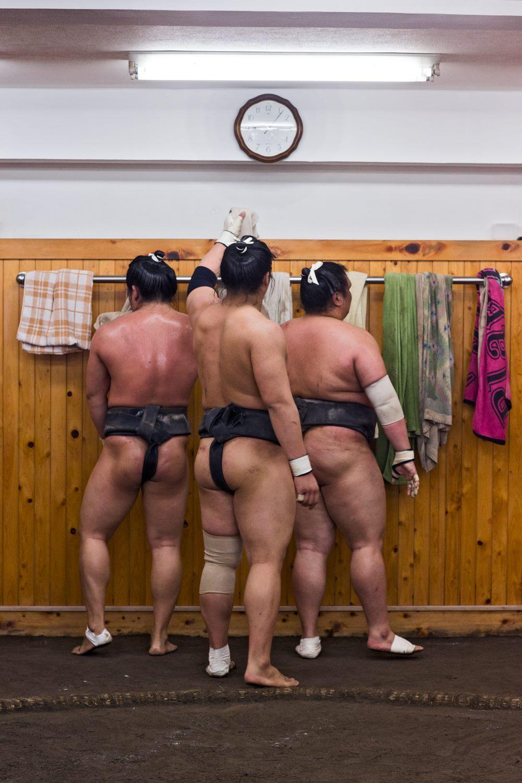 Sumo Training Camp - Tokyo