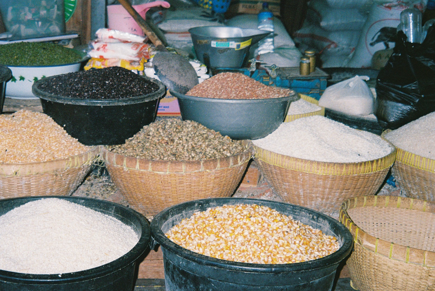 穀類 お米の種類も色々あった。