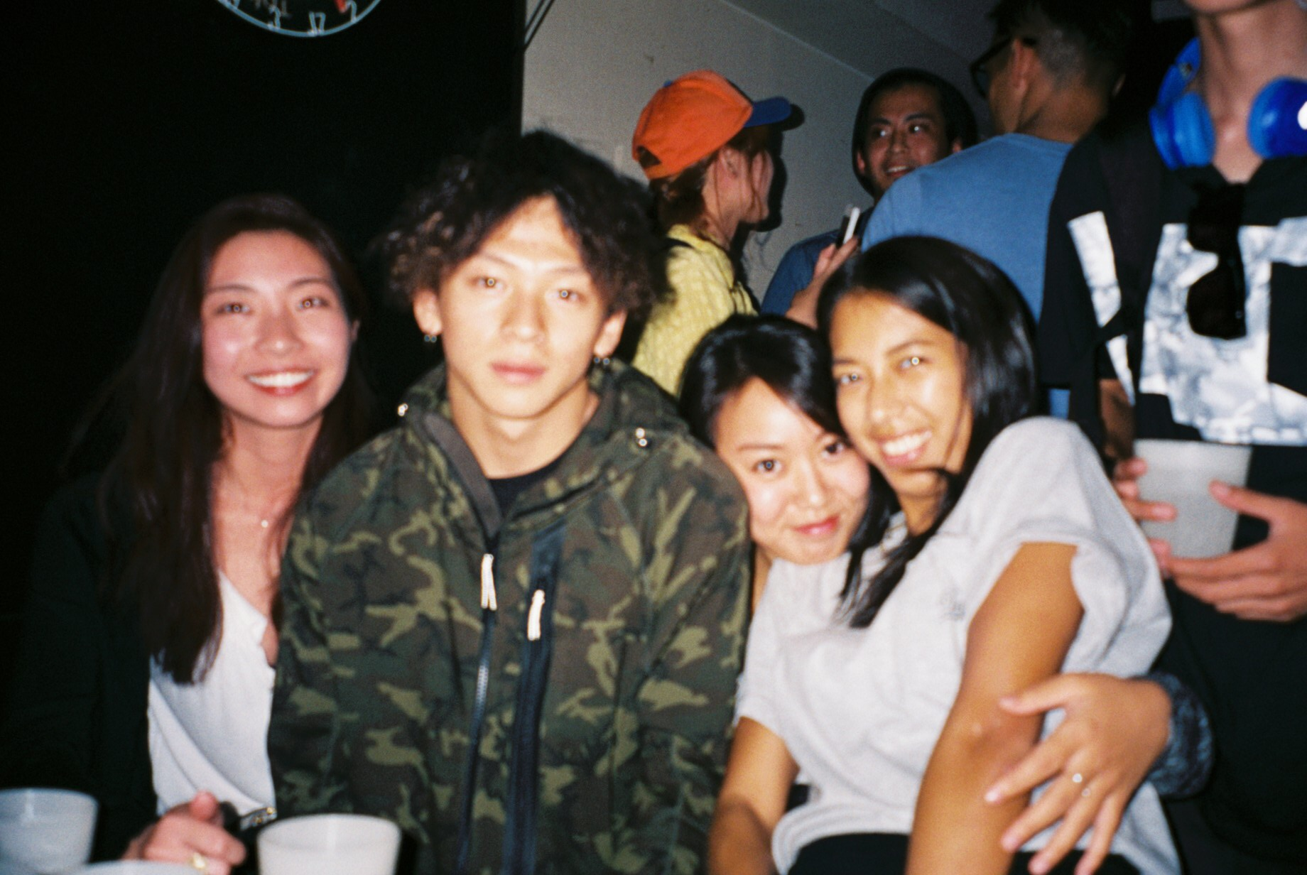 Young gun with the OGs haha