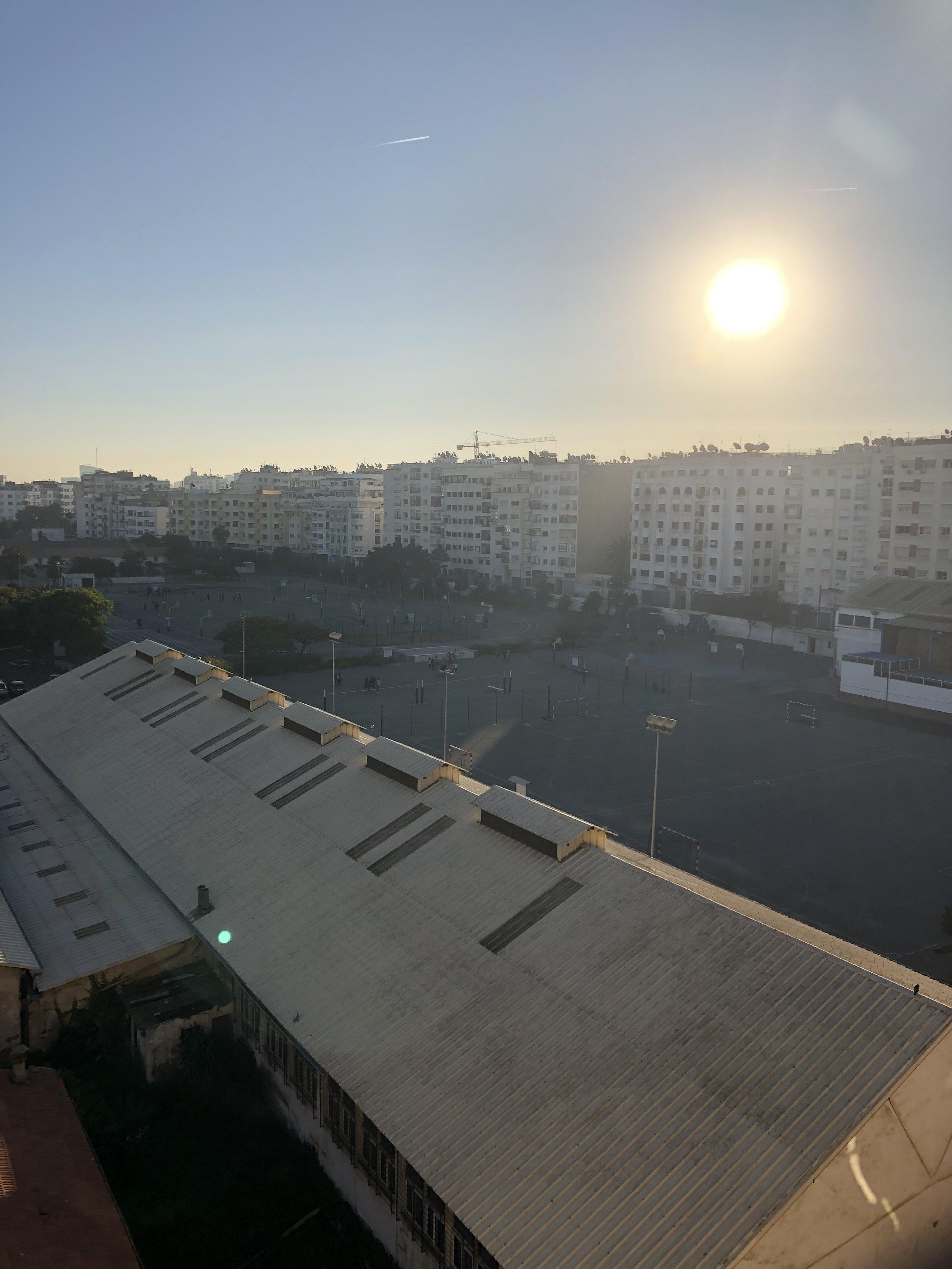 カサブランカ集合住宅街
