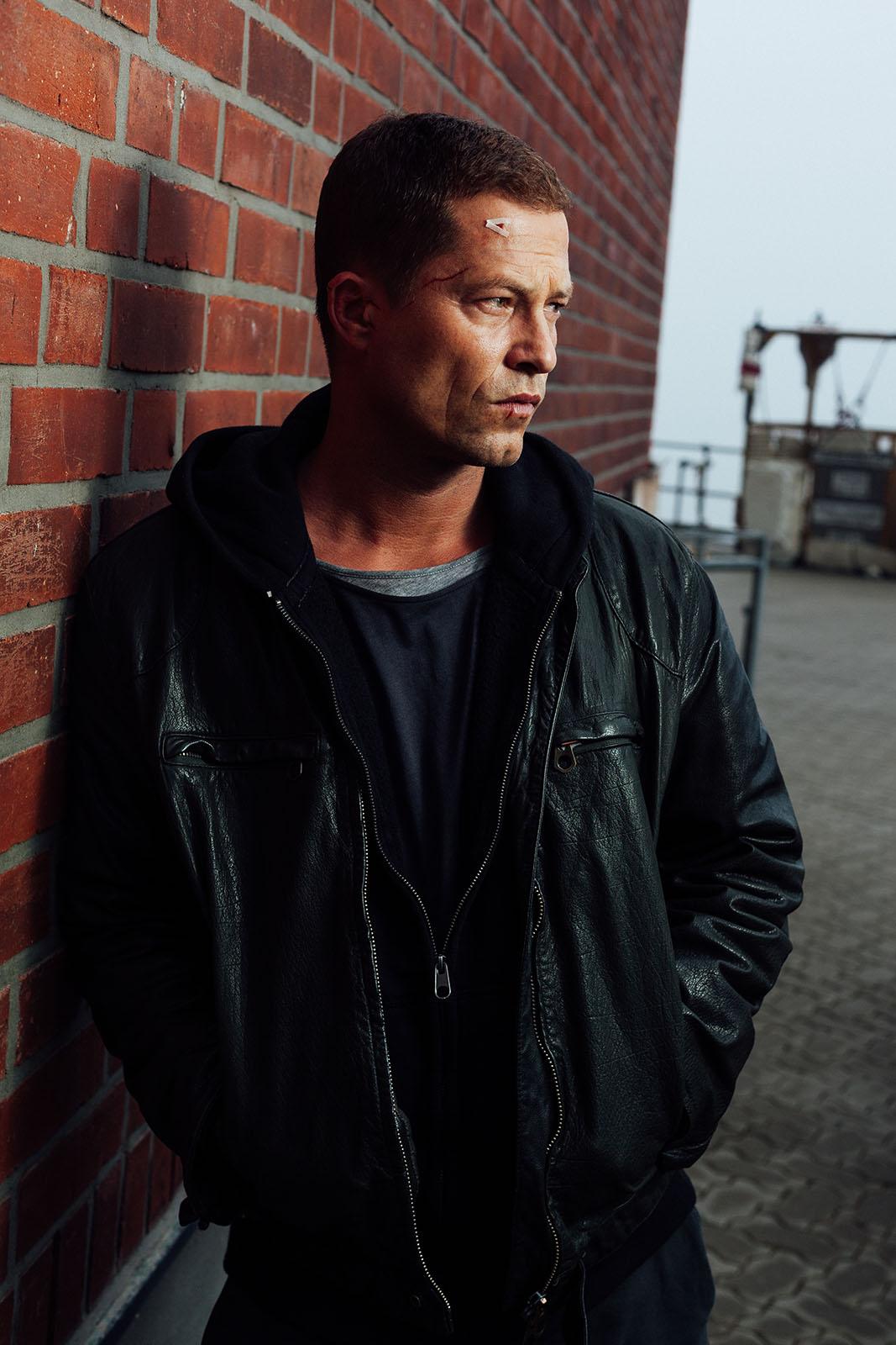 Schauspieler Til Schweiger beim Editorial Shoot während der Dreharbeiten zum Tatort Hamburg