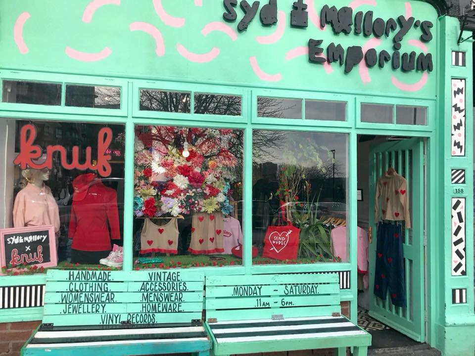 Syd & Mallory's Emporium. 158 Devonshire Street Sheffield.