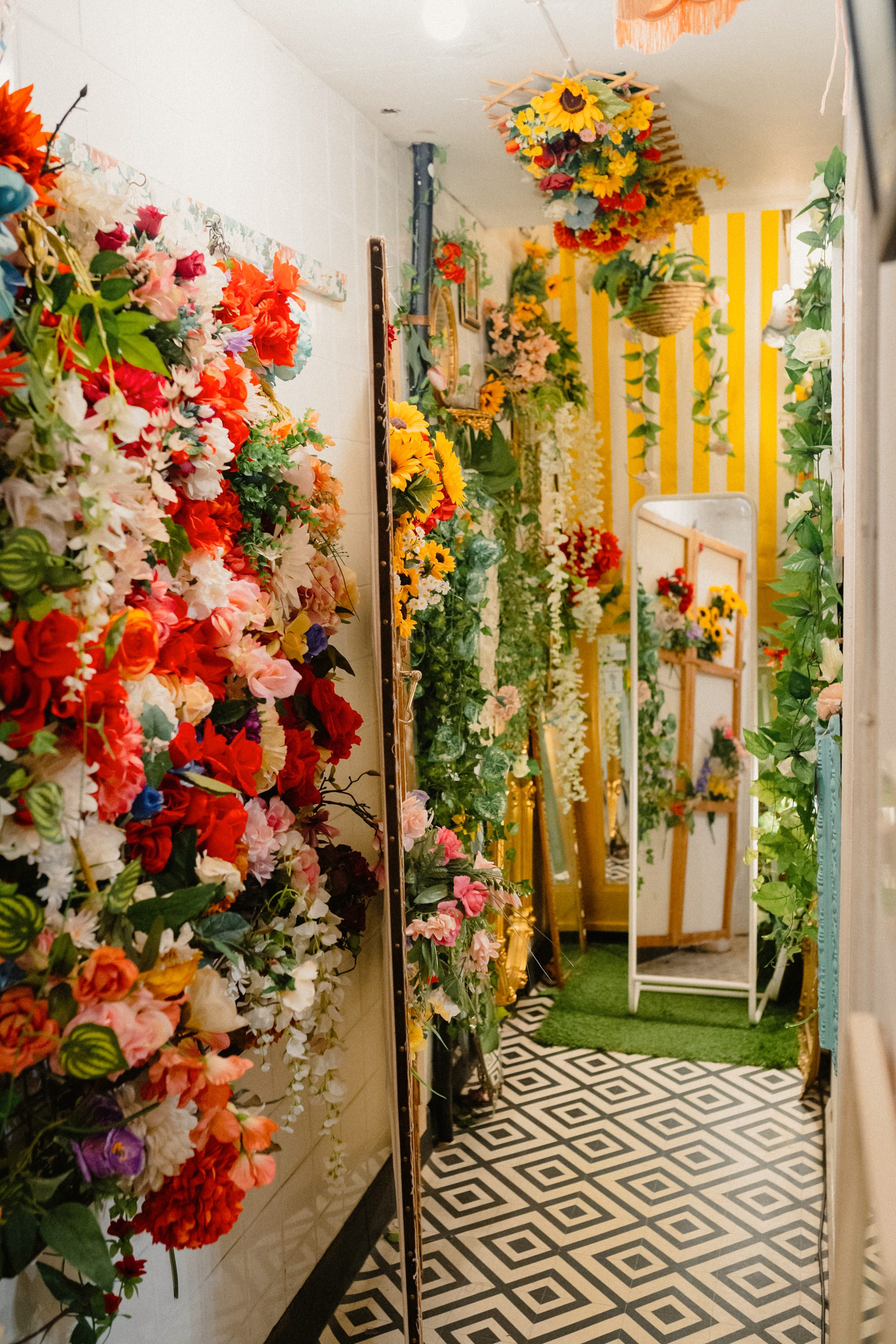Our Botanical Fitting Room.