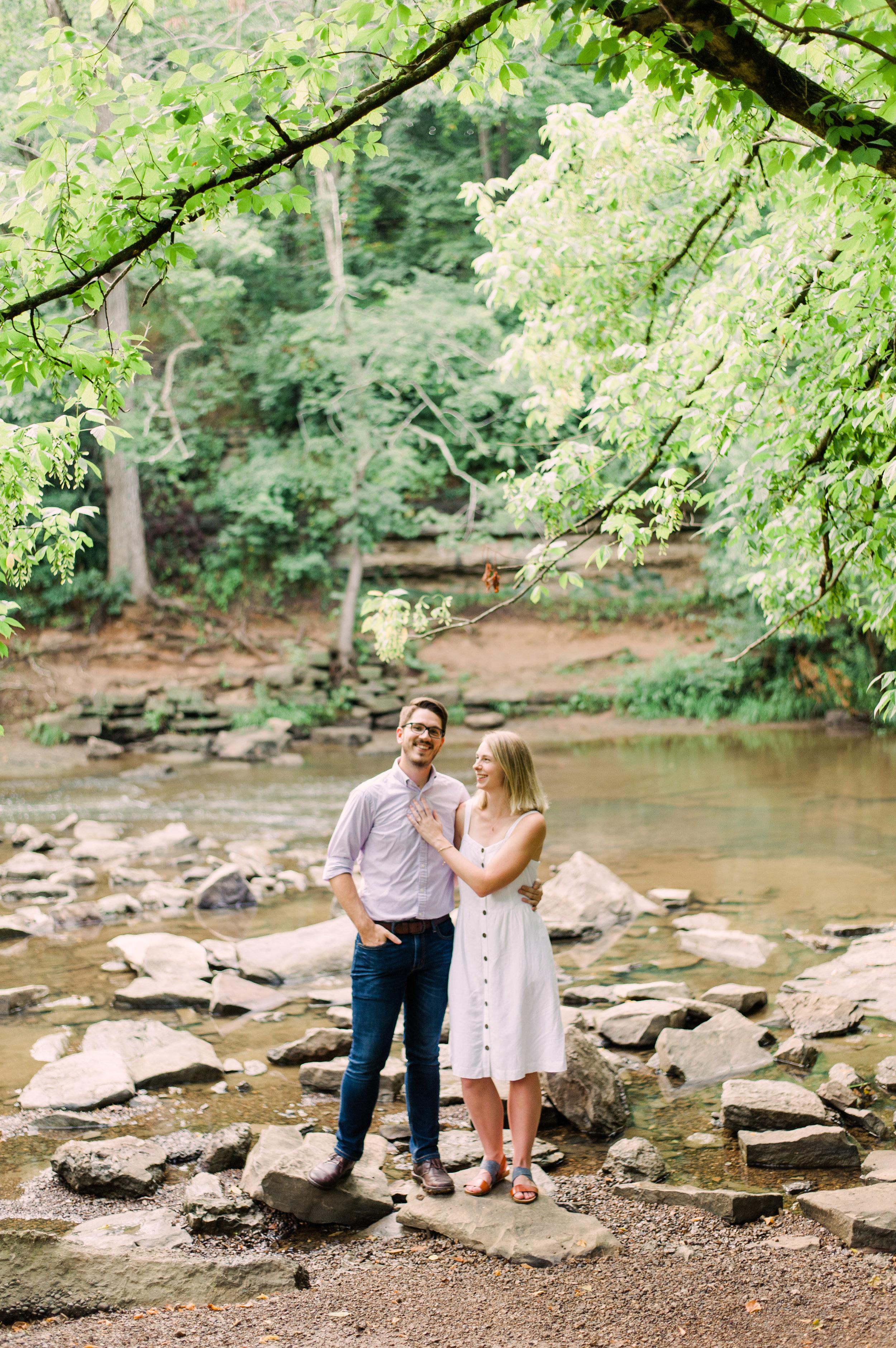 Summer Cherokee Park Engagement Session - Shelby + Brennen-1.JPG