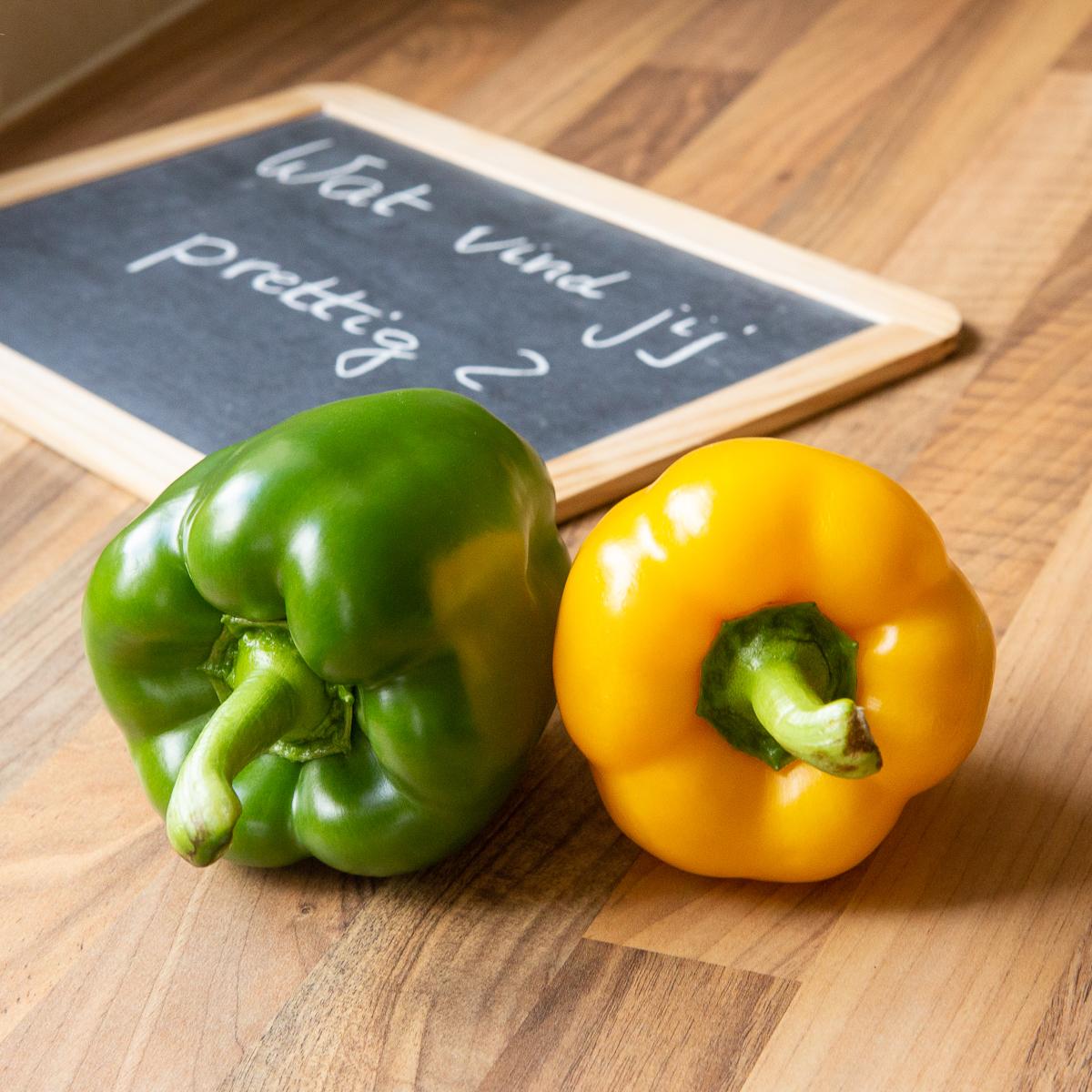 Foto bij blog: Gooi die groene paprika uit je aanbod - ZinVol (nuchtere ondernemerscoaching. Geen goeroegedoe.) Foto ©: Ada Luppen-Zyborowicz.