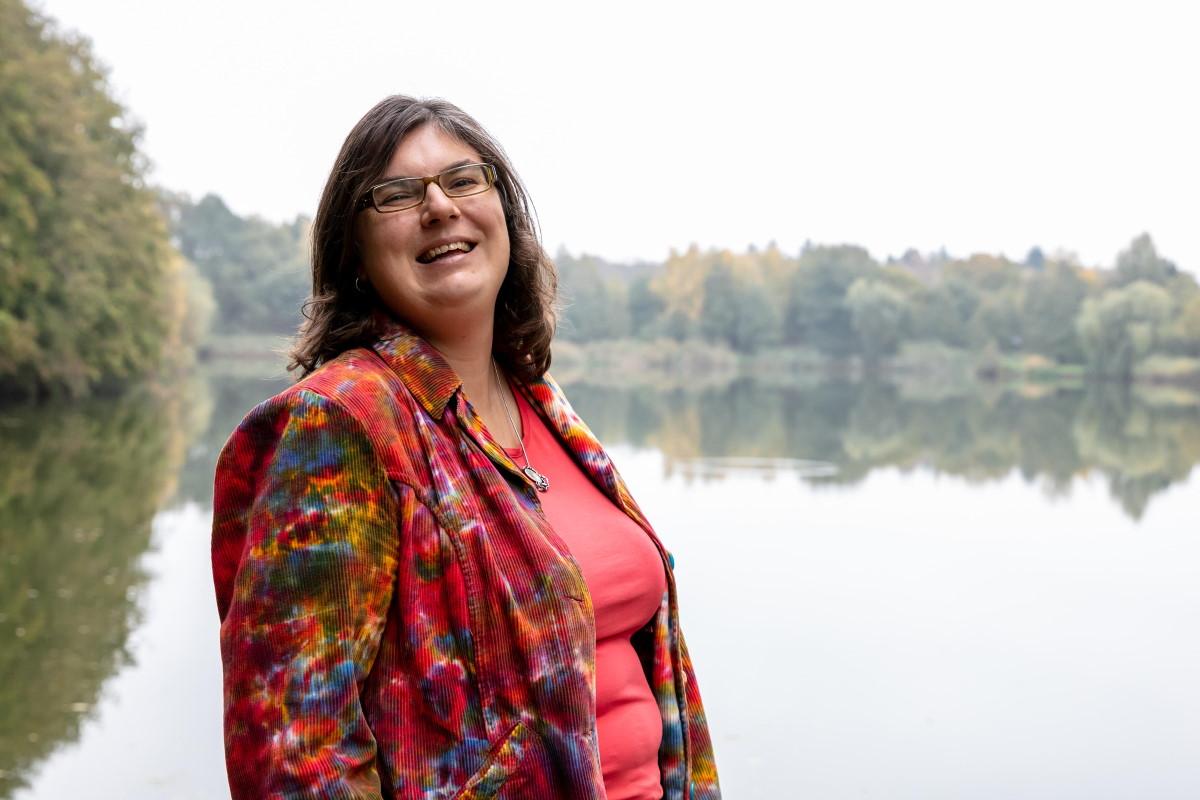 Dit is Barbara Pavinati, een lezer van de MotivatieMails van ZinVol. Foto: Krang Creaties.