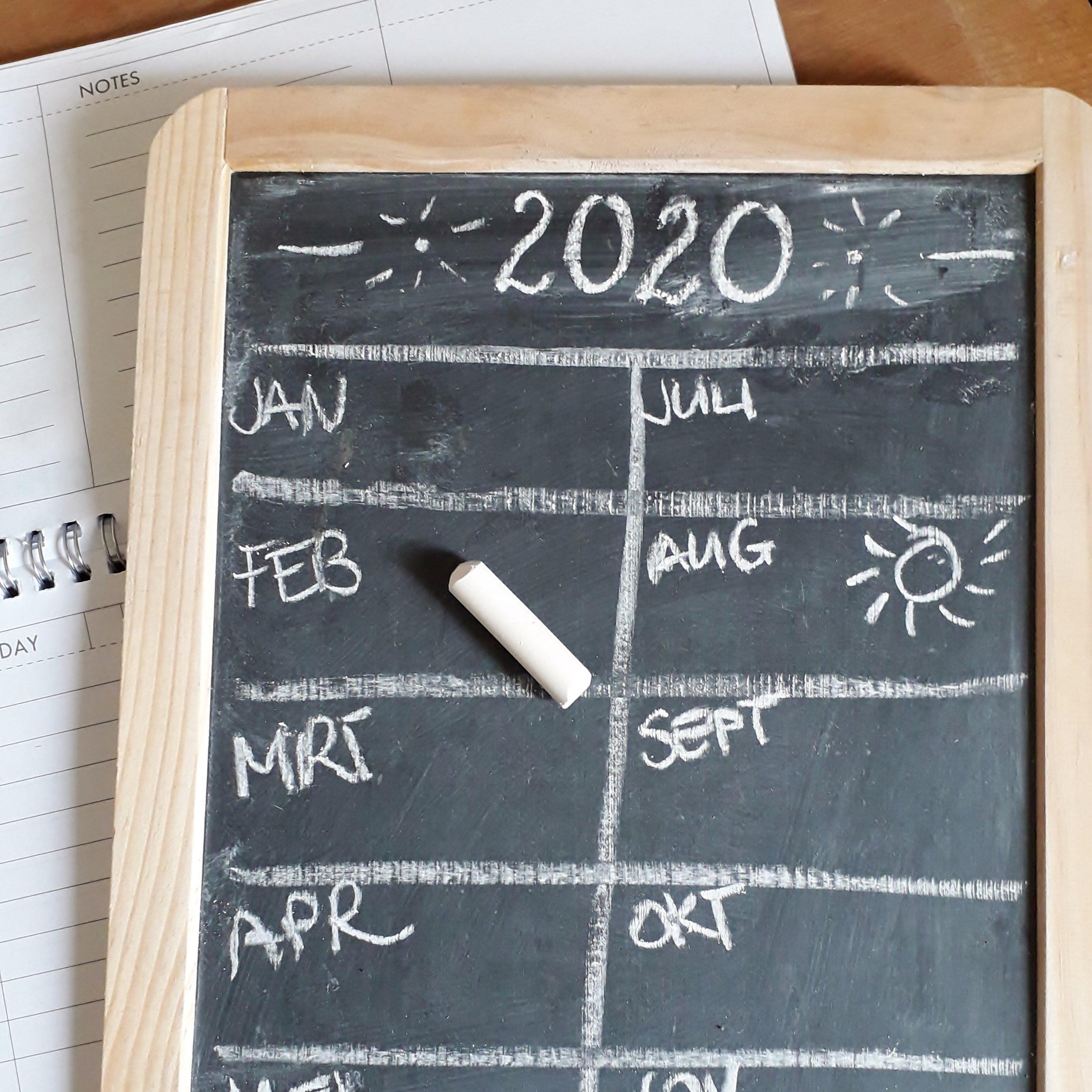 """Foto bij blog """"5 redenen waarom een jaarplanning hartstikke handig is"""" van ZinVol. Fotograaf: Margot Reesink."""