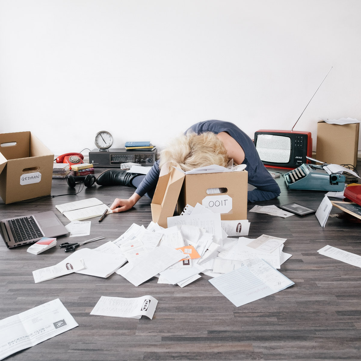 """Foto bij blog """"Als je doorlopend tijd of werk tekort komt"""" van ZinVol. Fotograaf: Valerie Ardini."""