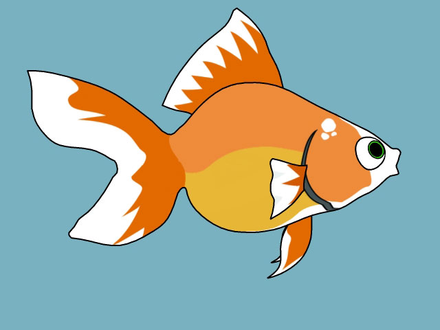 Guppy the Goldfish