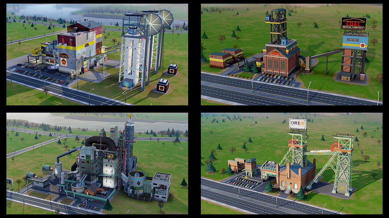 SimCity Buildings