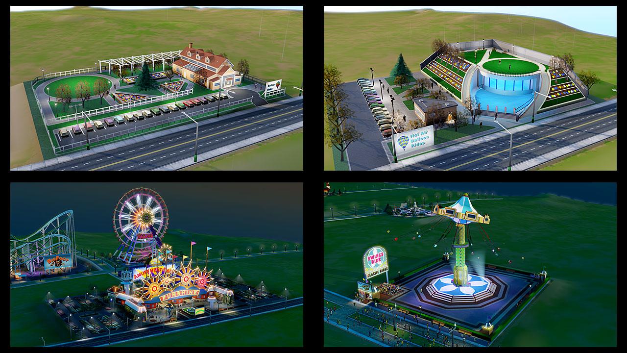 Culture and Amusement Parks DLC