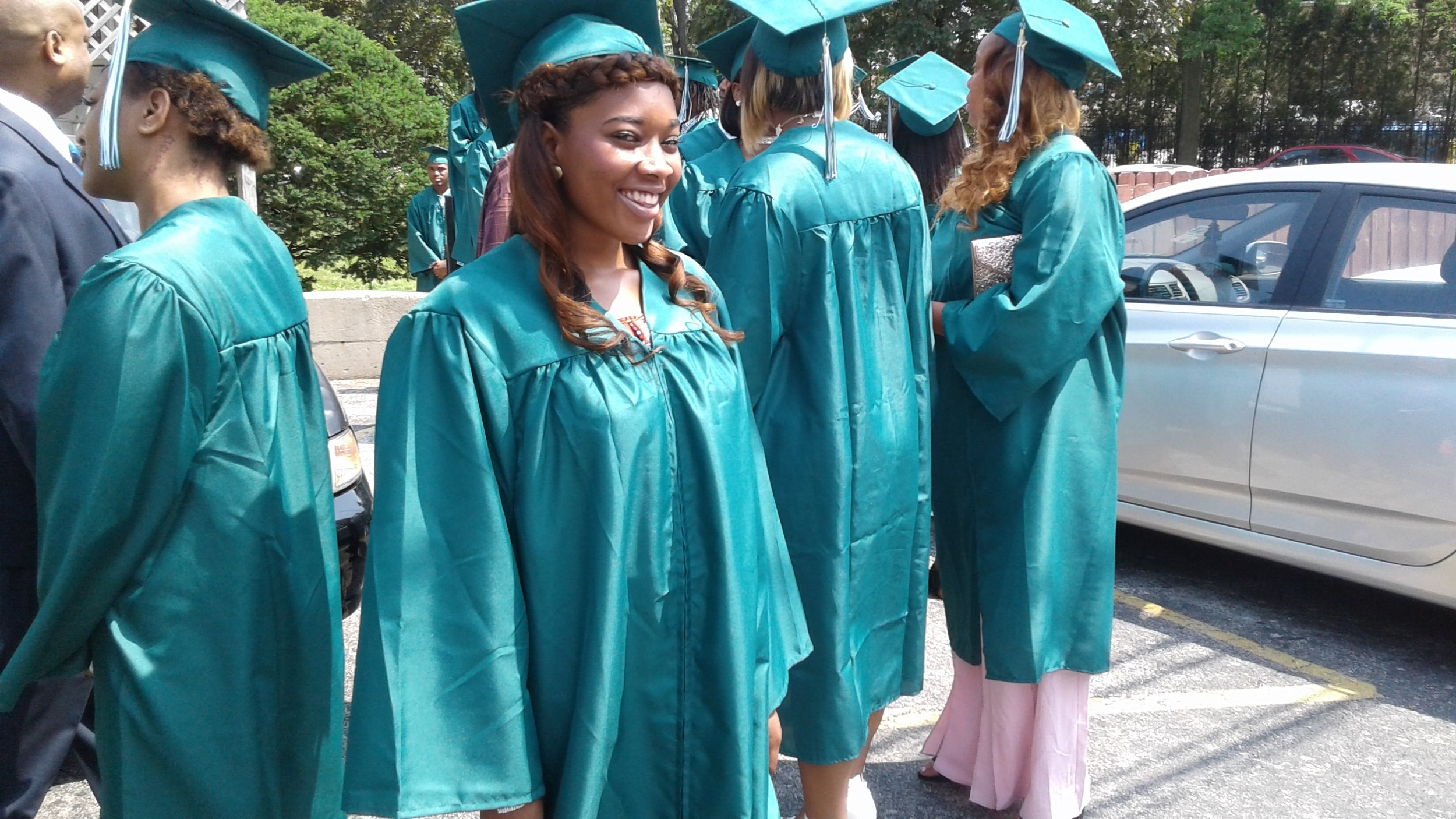Community Youth Development Institute Graduating Students