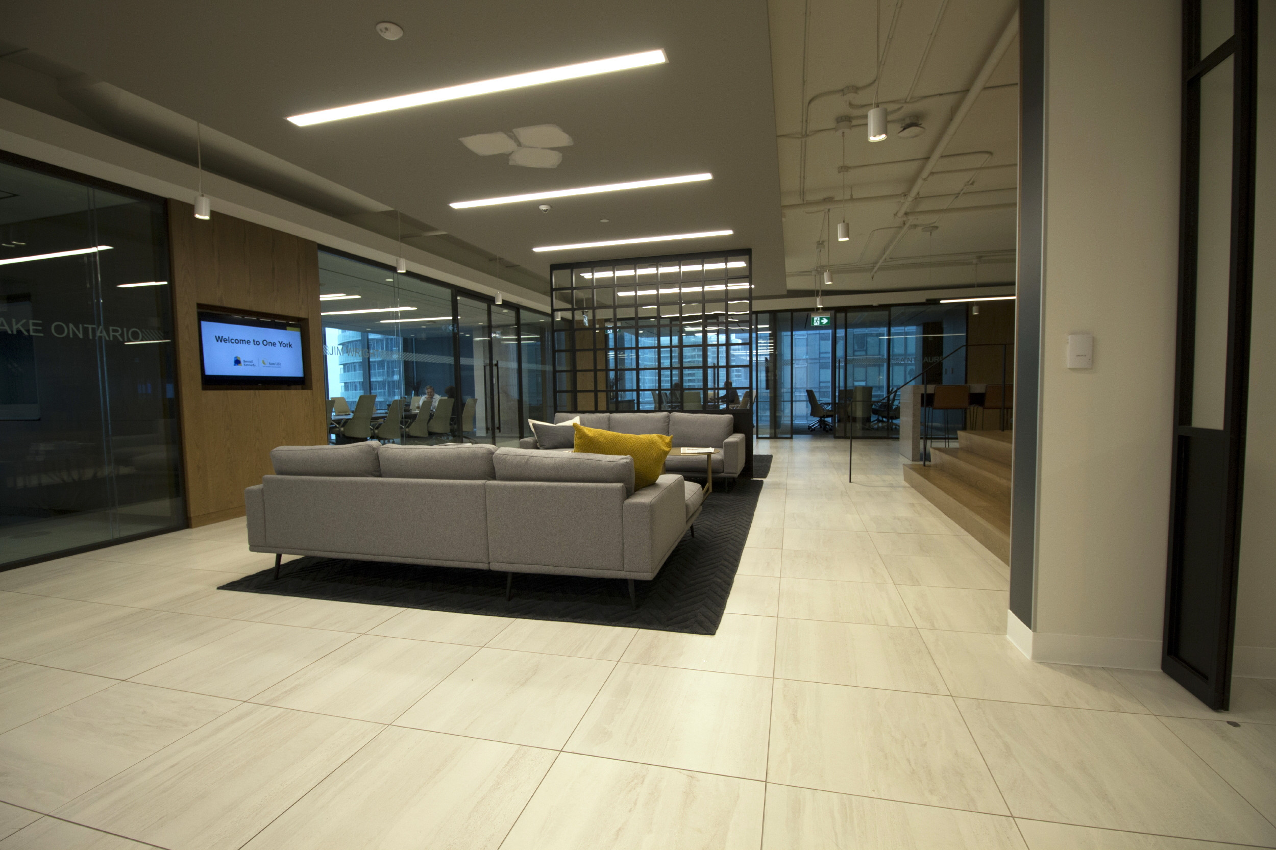 OFFICES & PUBLIC AREAS
