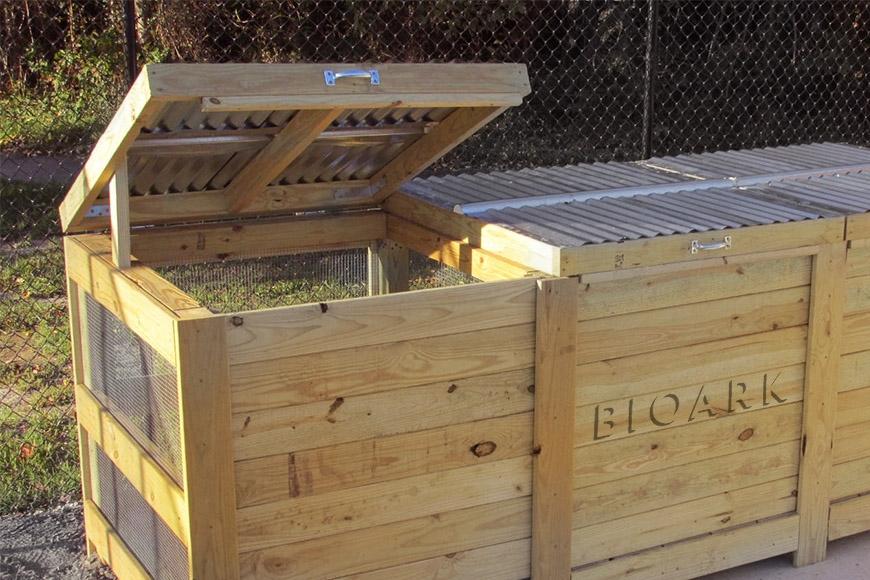 Udendørs Kompost