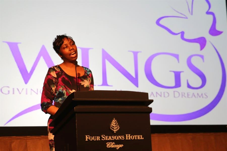 WINGS Reception, Ribbon Cutting for Chicago's newest Domestic Violence shelter, 2016.