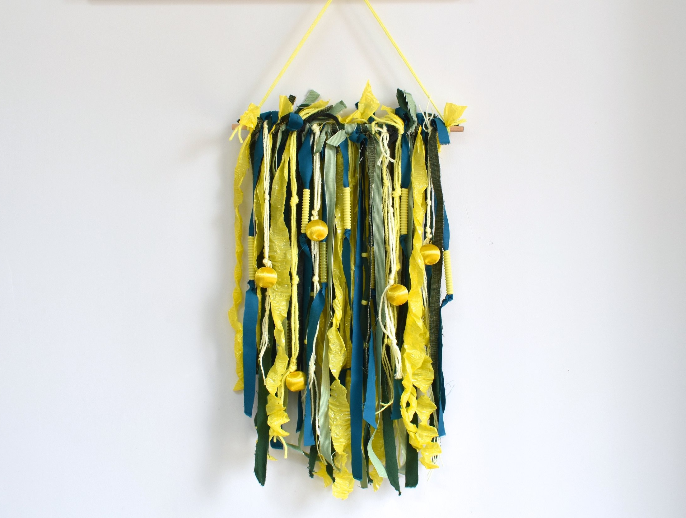 Fiber Fringe Wall Hangings