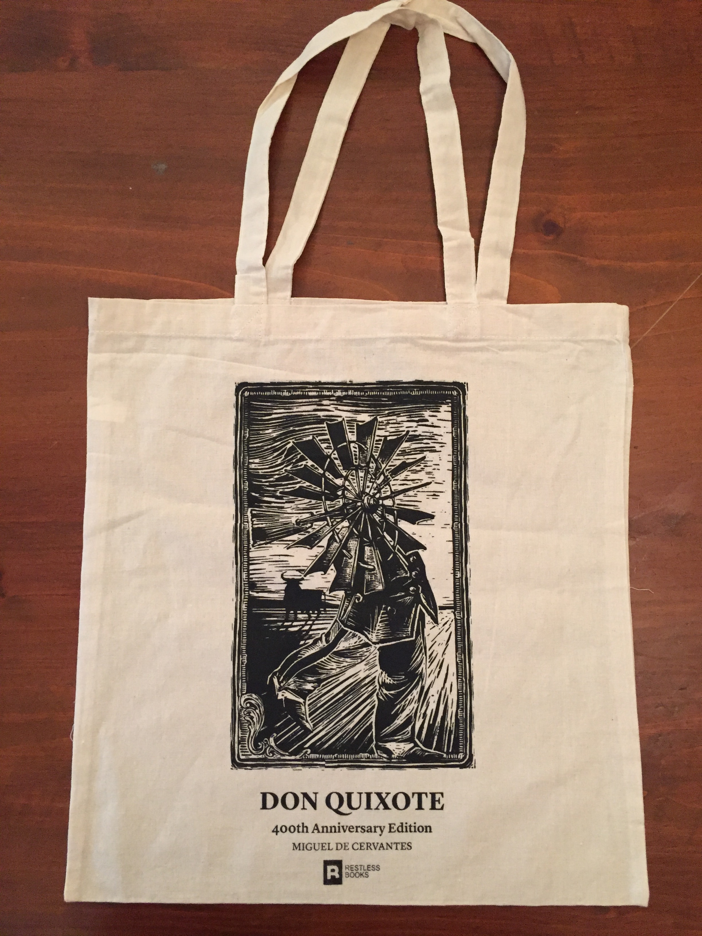 Don Quixote tote Bag - Windmill Giant.JPG