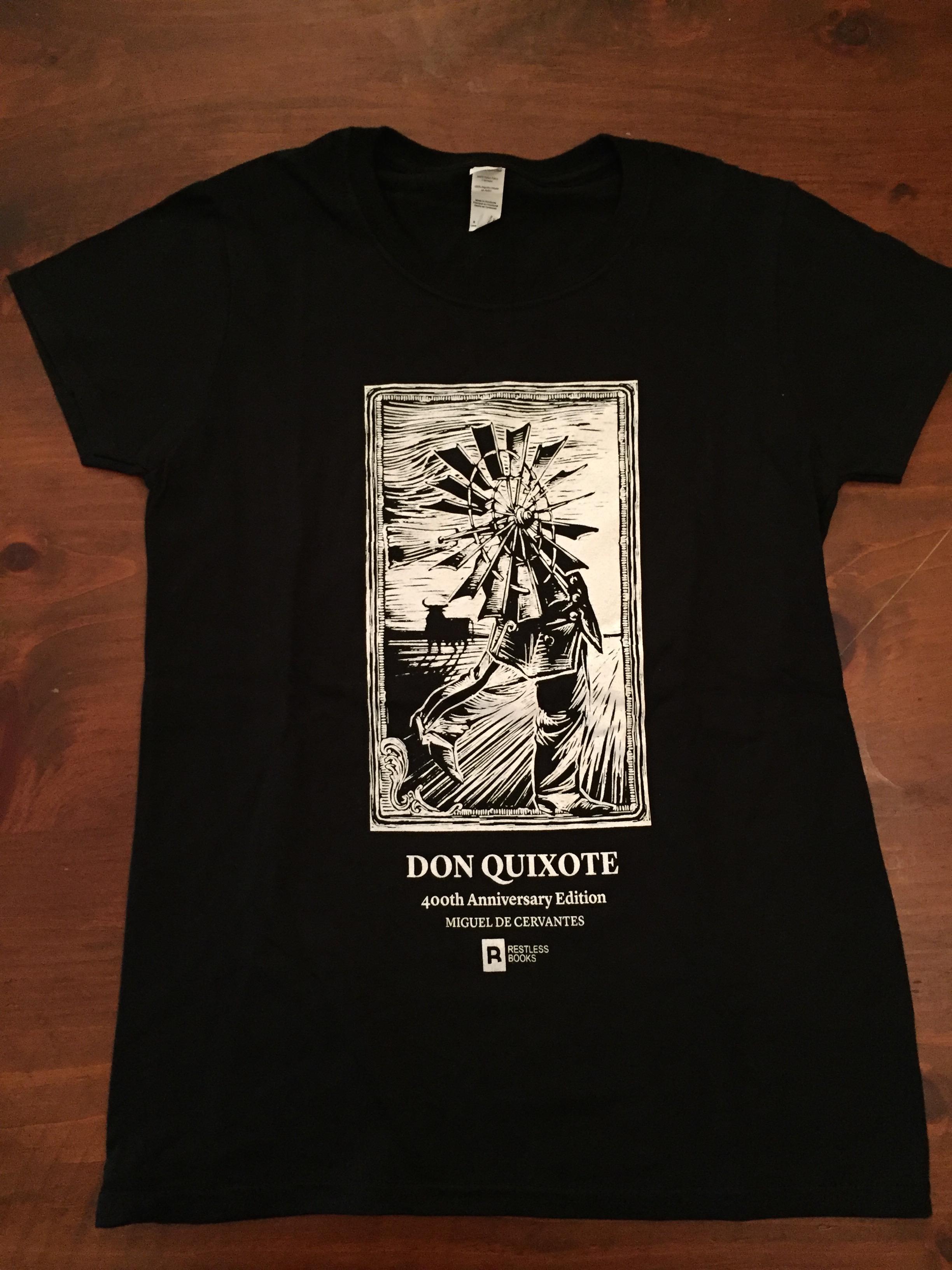 Don Quixote T-shirt - Windmill Giant.JPG