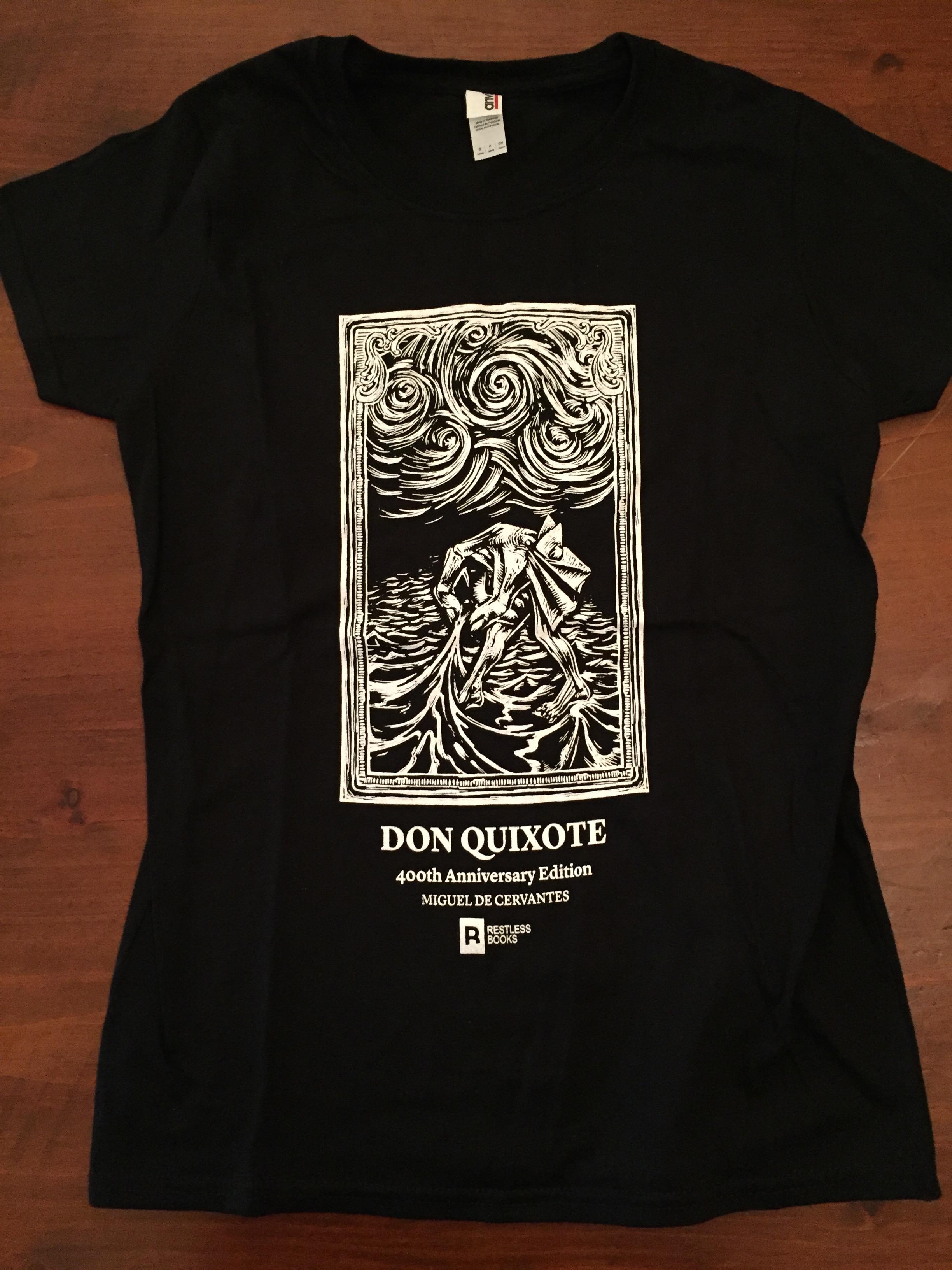 Don Quixote T-shirt - The Sea.JPG