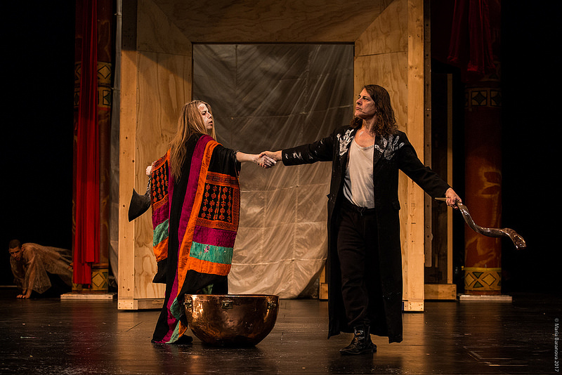Leonora & Alejandro: La Maga y el Maestro at Peak Performances at Montclair State University. Photo by Maria Baranova