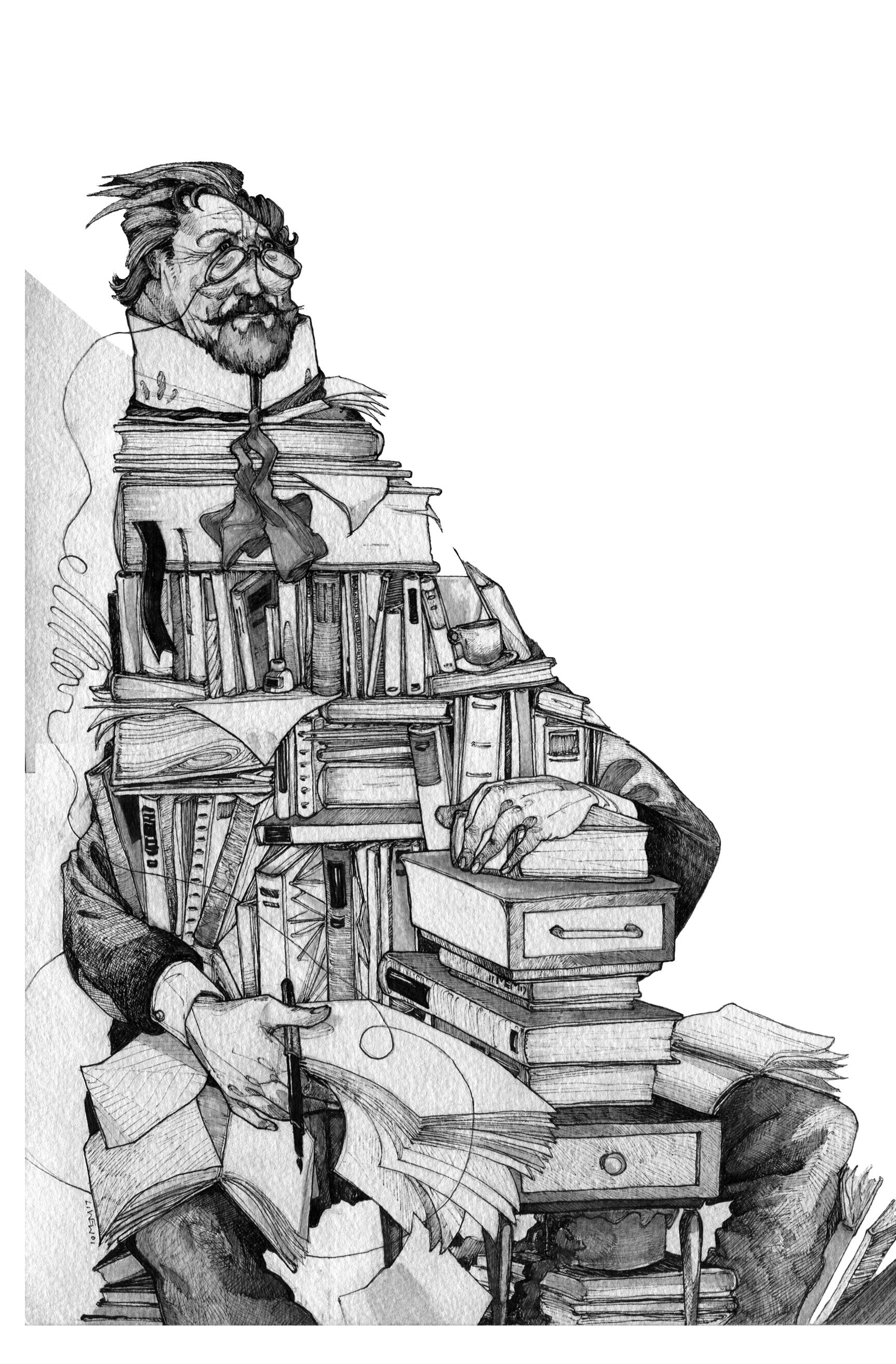 Chekhov Bookcase
