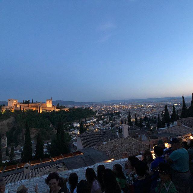 La última día en Granada 🥰😭💔