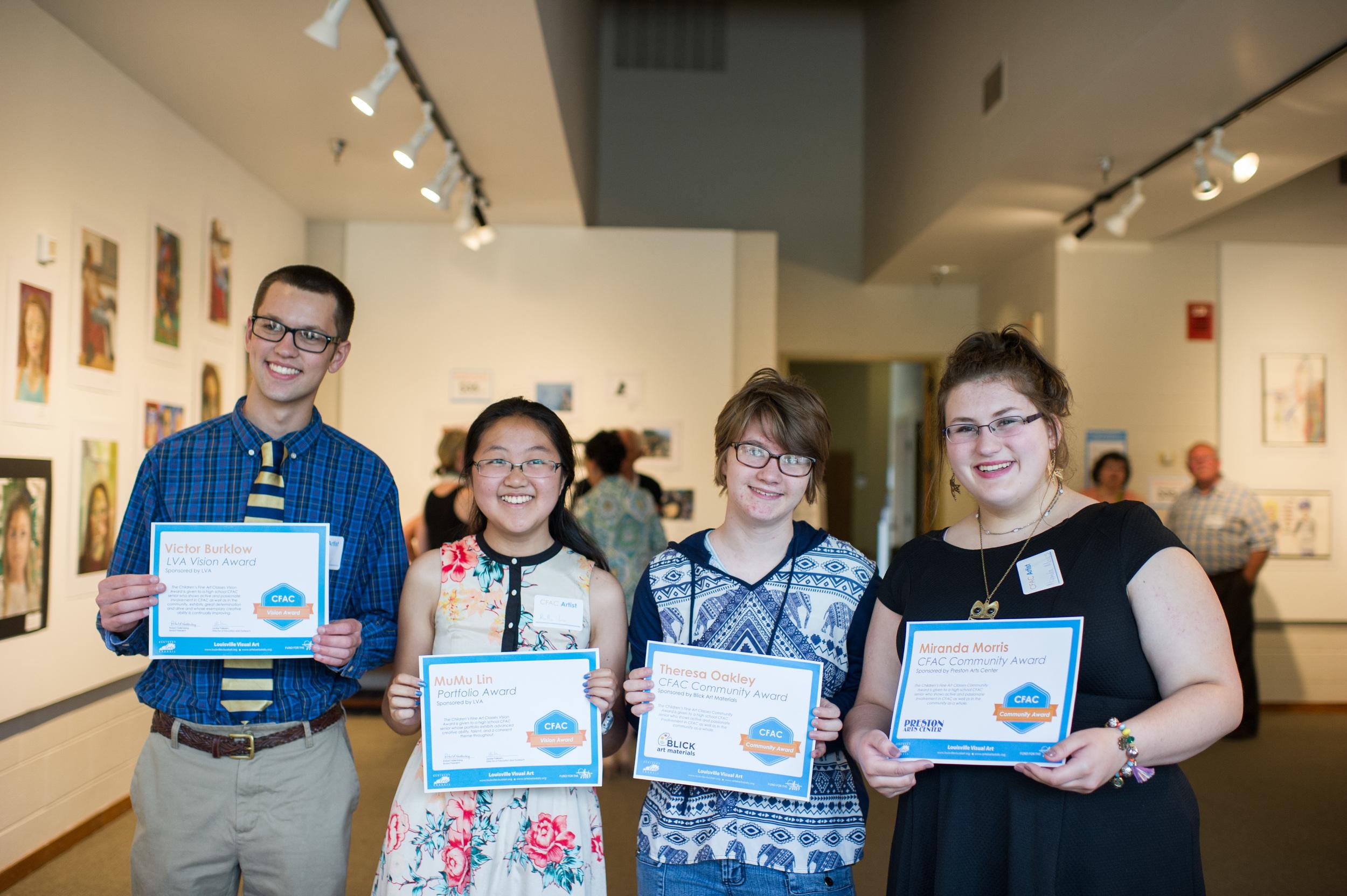Our CFAC Award Winners