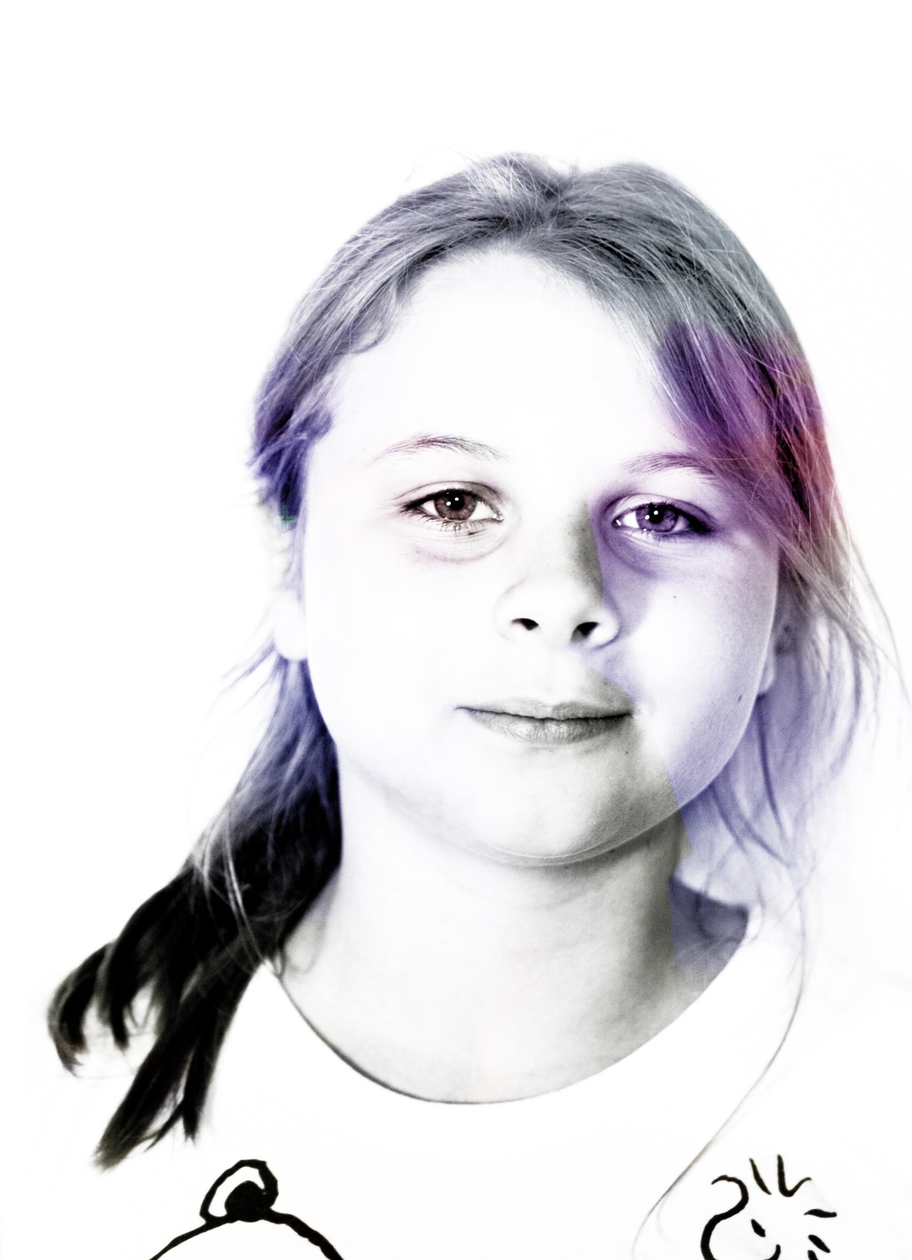 Lauren,Photoshop Layers Portrait