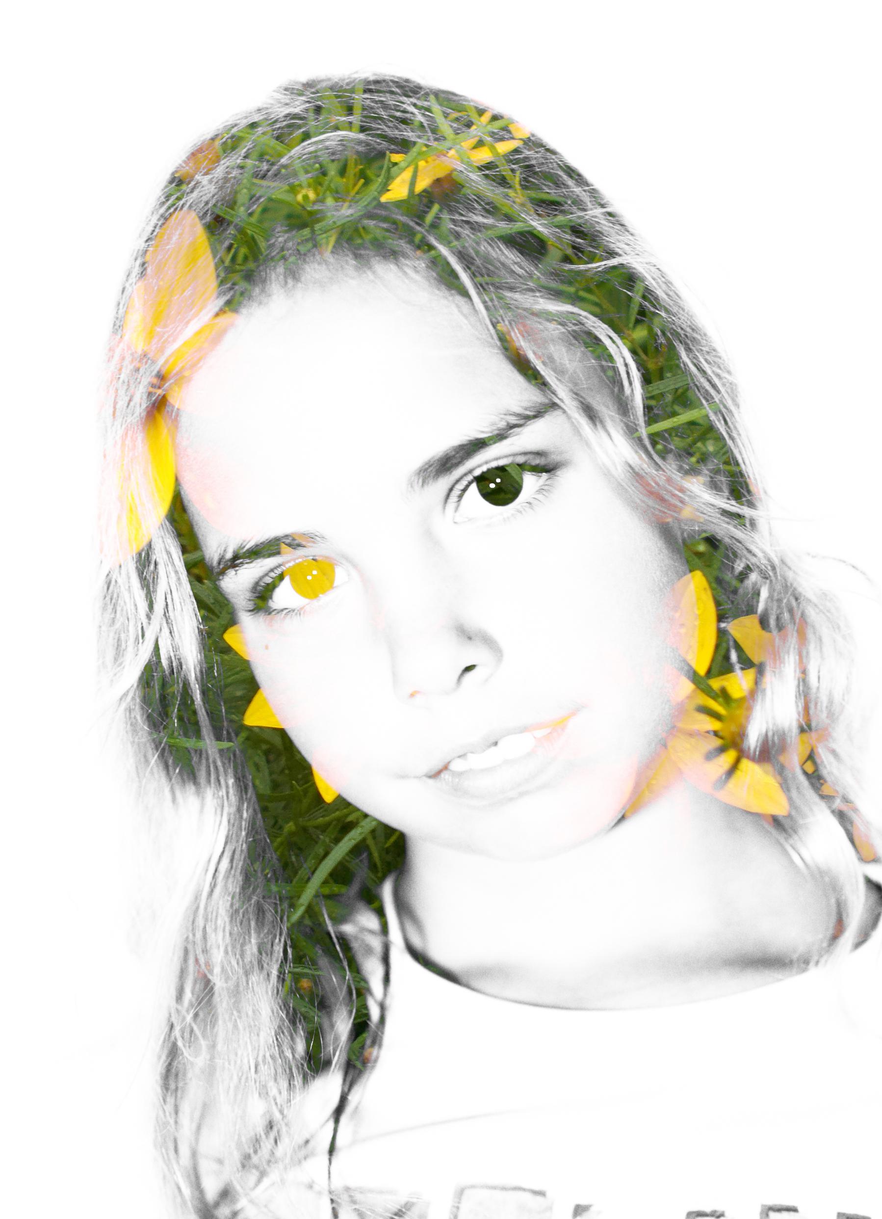 Kyel, Photoshop Layers Portrait