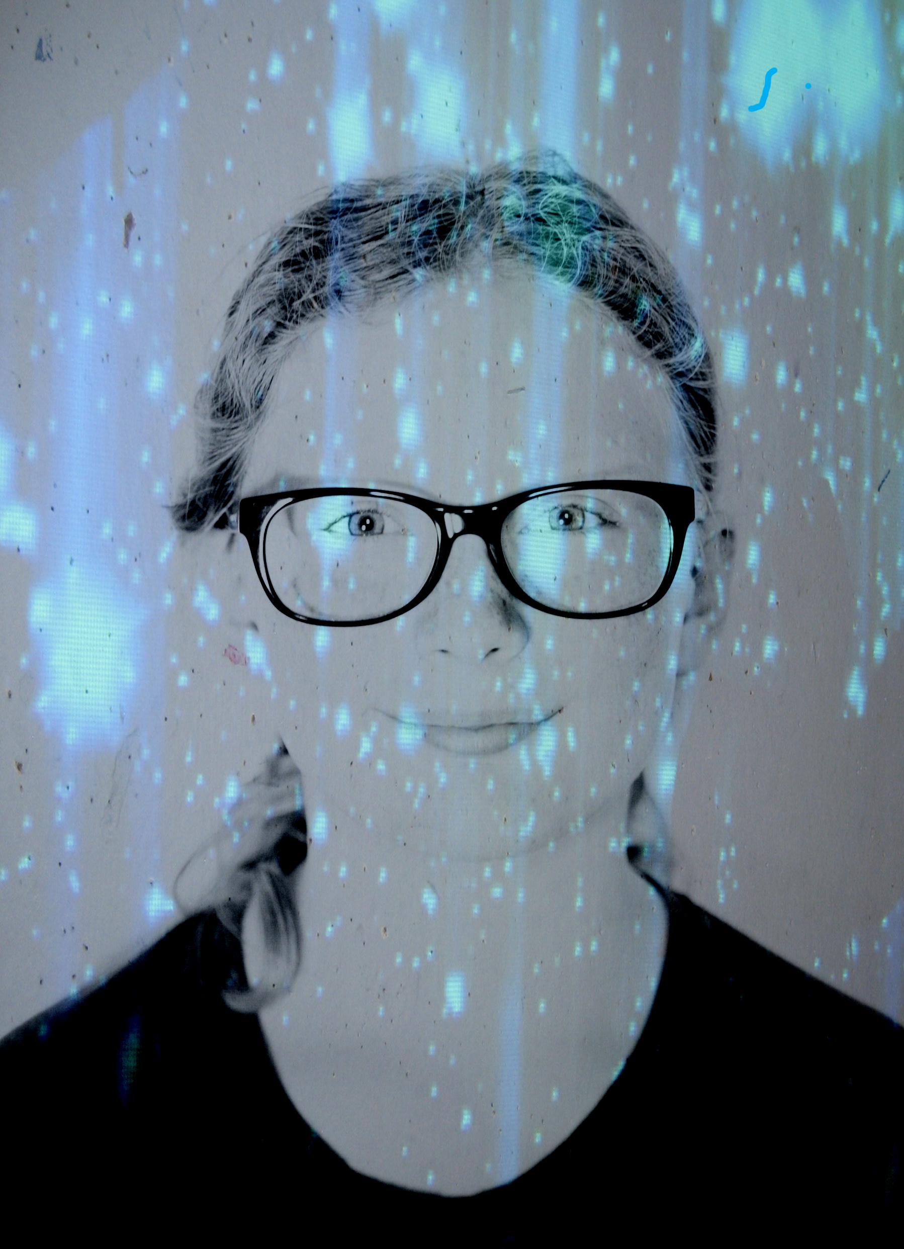 Sloan, Photoshop Layers Portrait