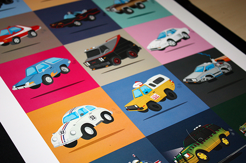 Various vehicle illustrations by Scott Soeder.