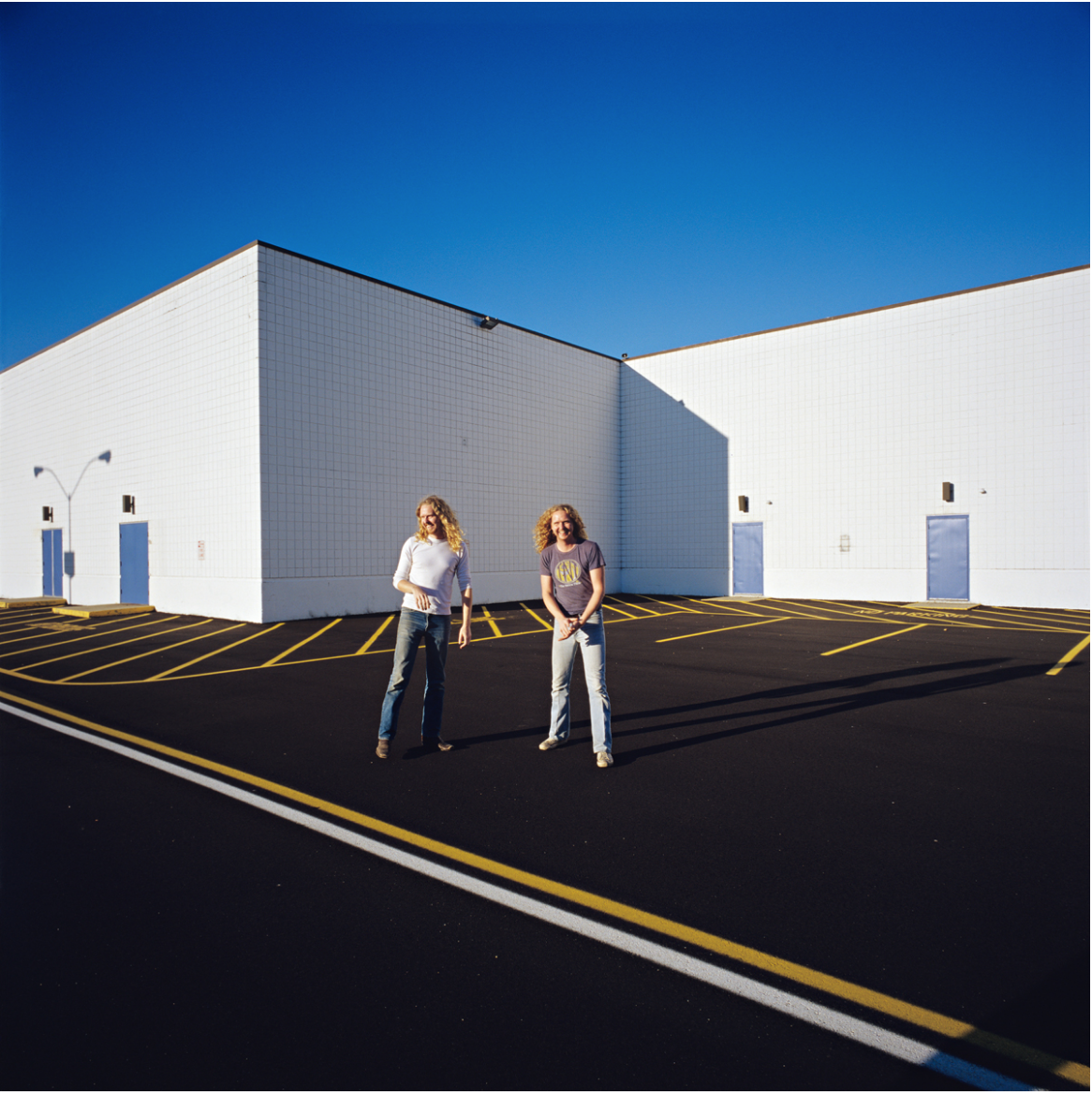 Sarah Lyon,   Mitchell and Matthew Barney  , 2004, Archival Pigment Print, 40x40in