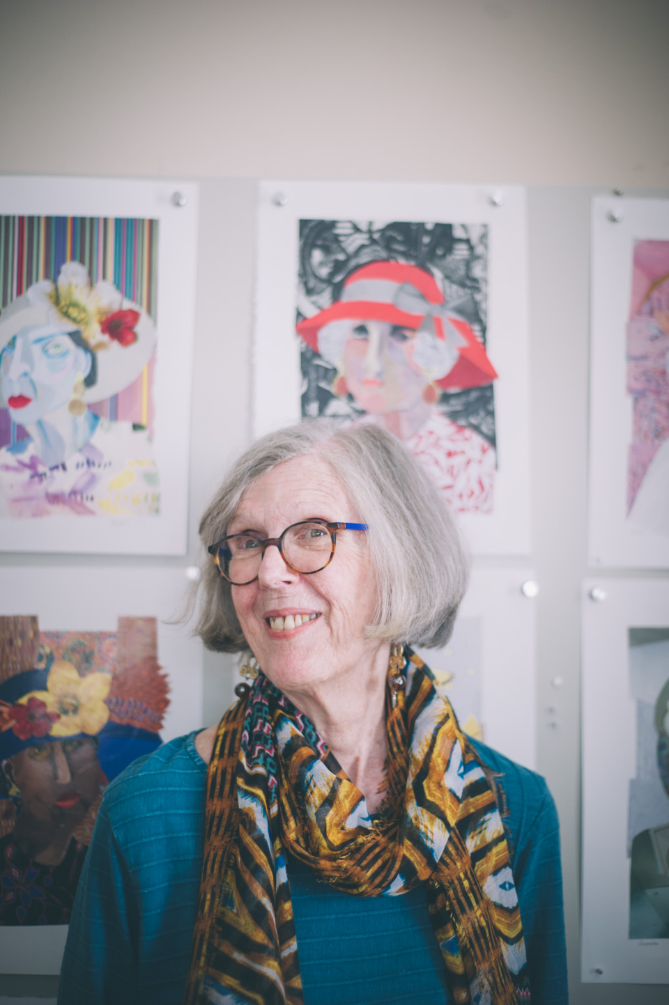 A photograph of Ann Stewart Anderson. Photo by Sarah Katherine Davis Photography for LVA