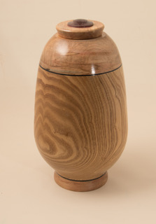 """""""Untitled #2"""" by Sid Webb, about 11in tall, spalted maple and catalpa (2016), $800 