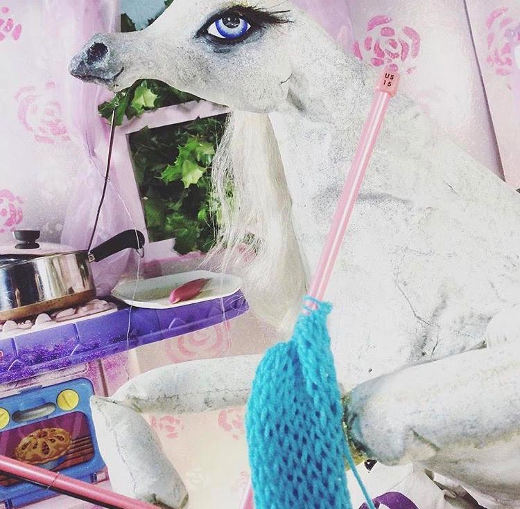Still from 'Unicorn Xing' Tyler McDAniel cinematographer. Puppets and Set by Michael John Braaksma.