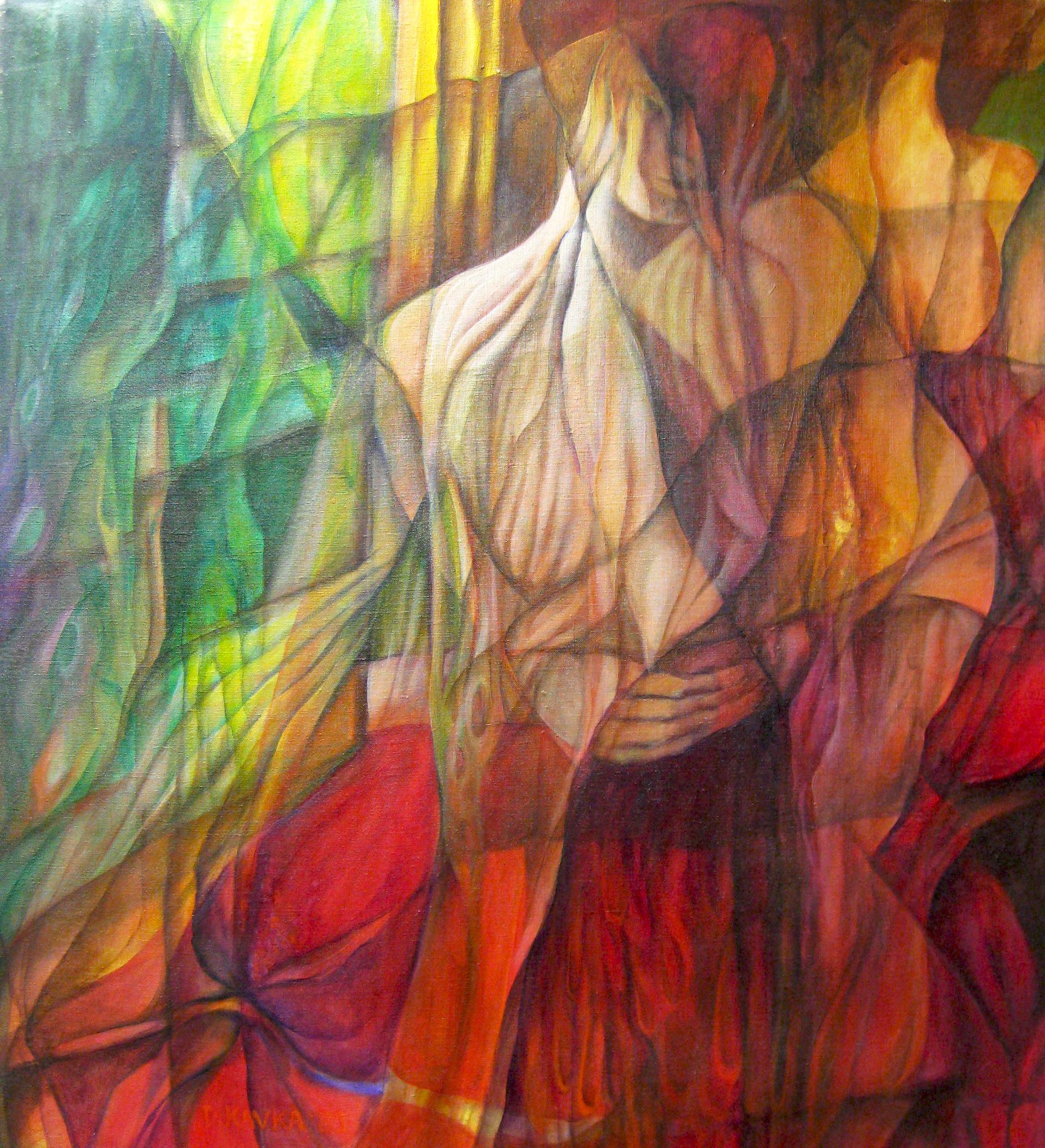 """""""Ballerinas"""" by Dorothy Kavka"""
