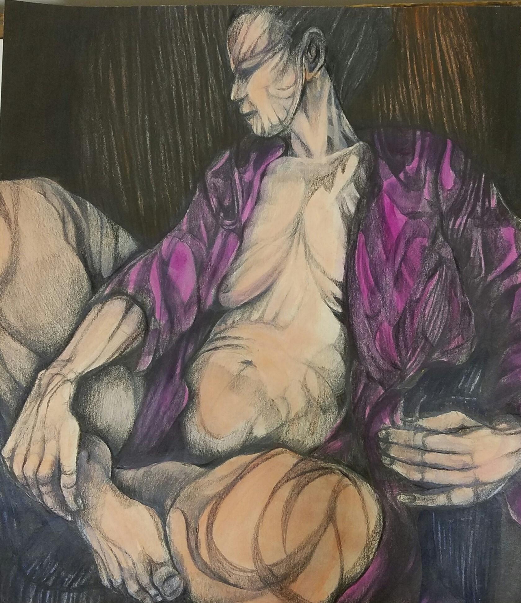 """Nude II"" by Dorothy Kavka"