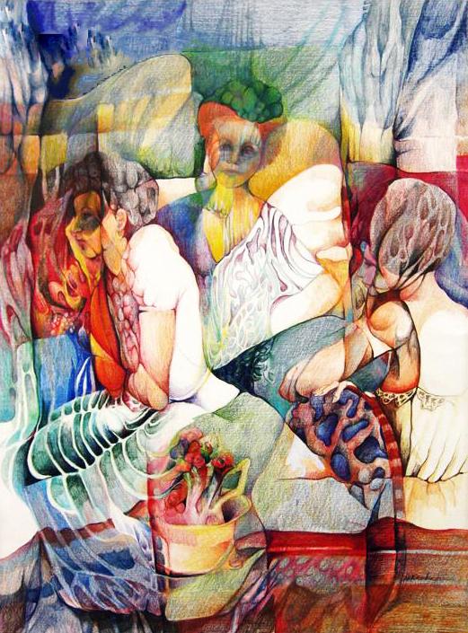 """Garden Party"" by Dorothy Kavka"