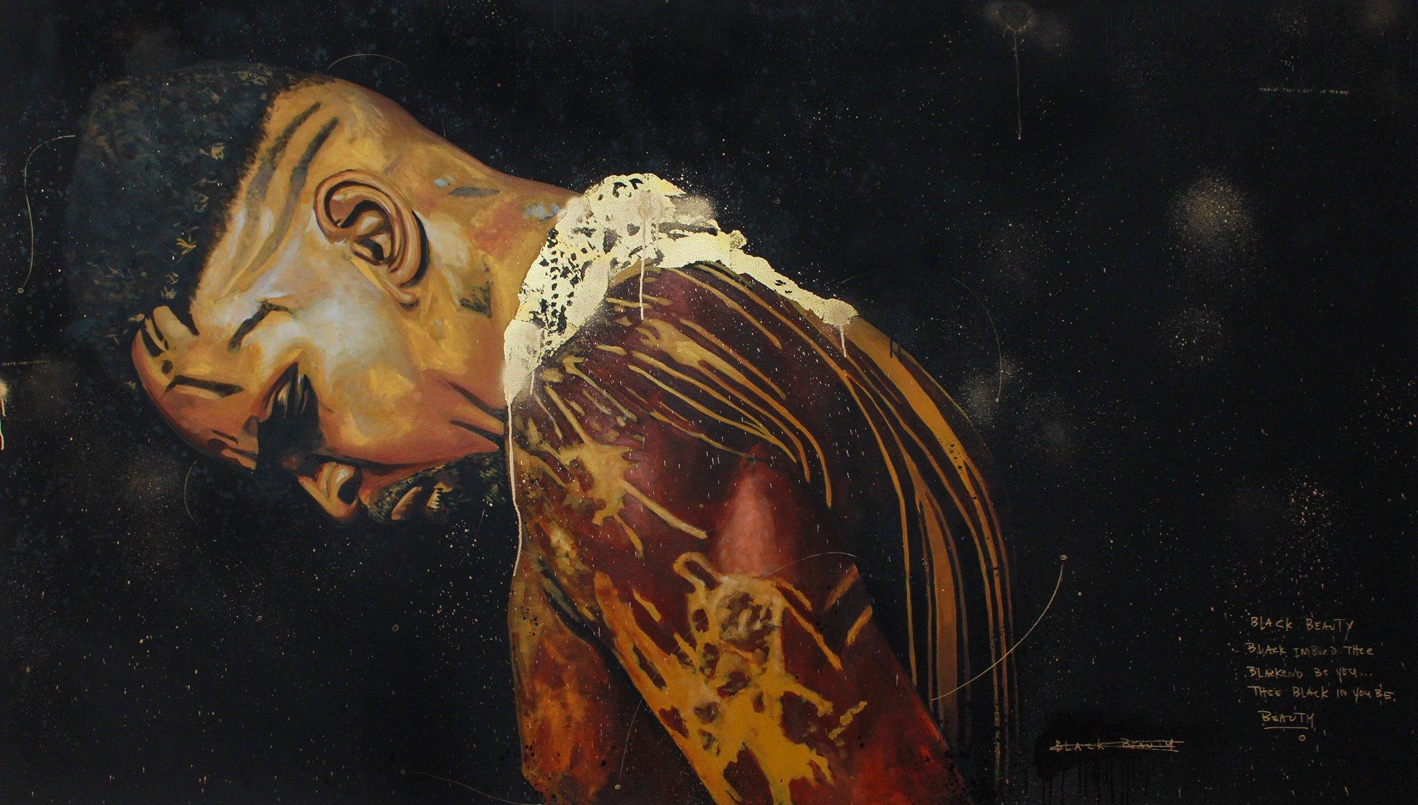 'Black Beauty' by Fahamu Pecou