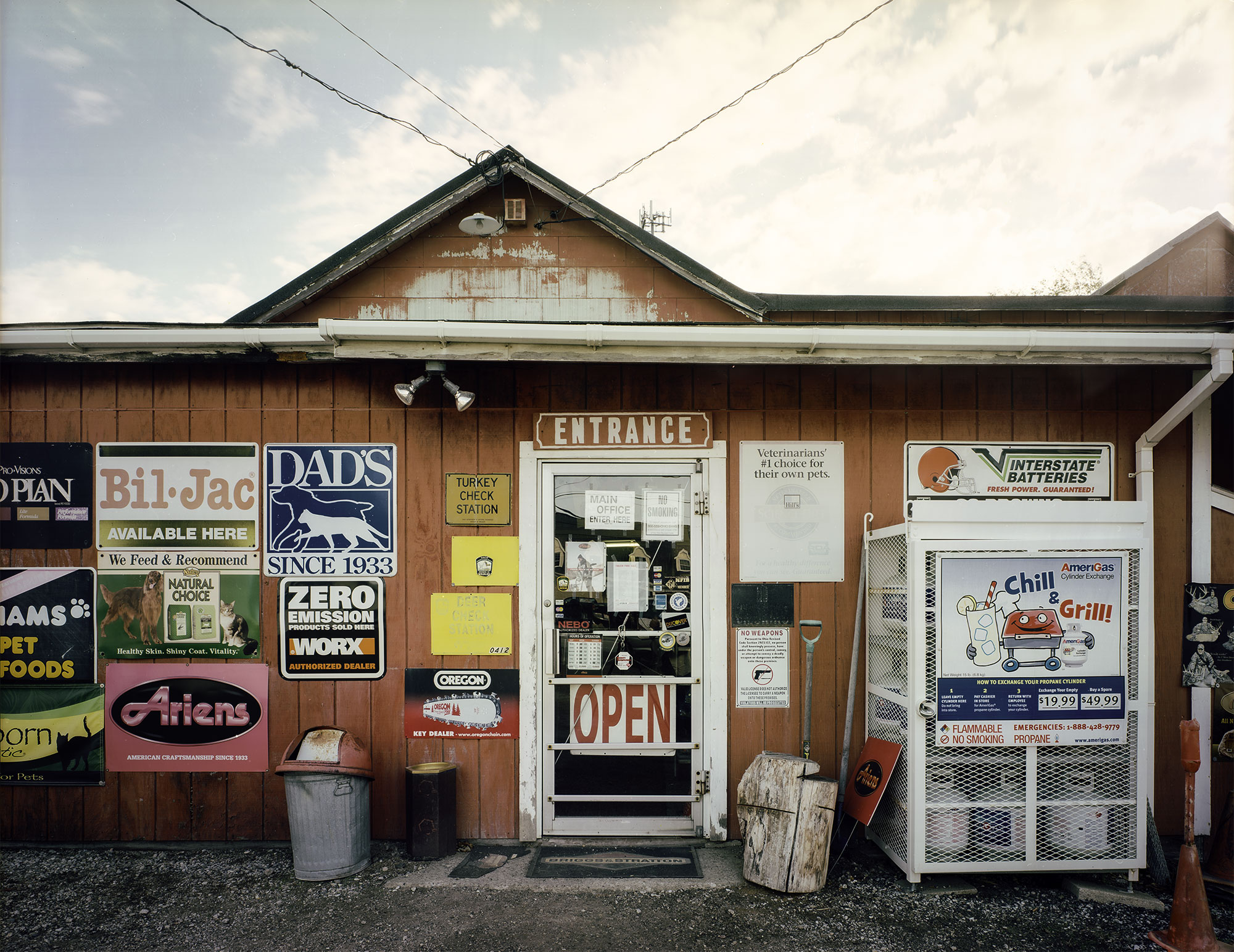 """  Krays Hardware"" by Charles Mintz, 32 x 40in, Inkjet Print From Scanned FIlm (2015), $1000 