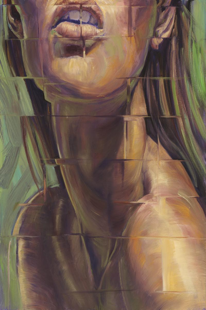"""Going to Great Lengths"" by Debra Lott, 30x20in, oil on canvas (2016),$950 | BUY NOW"