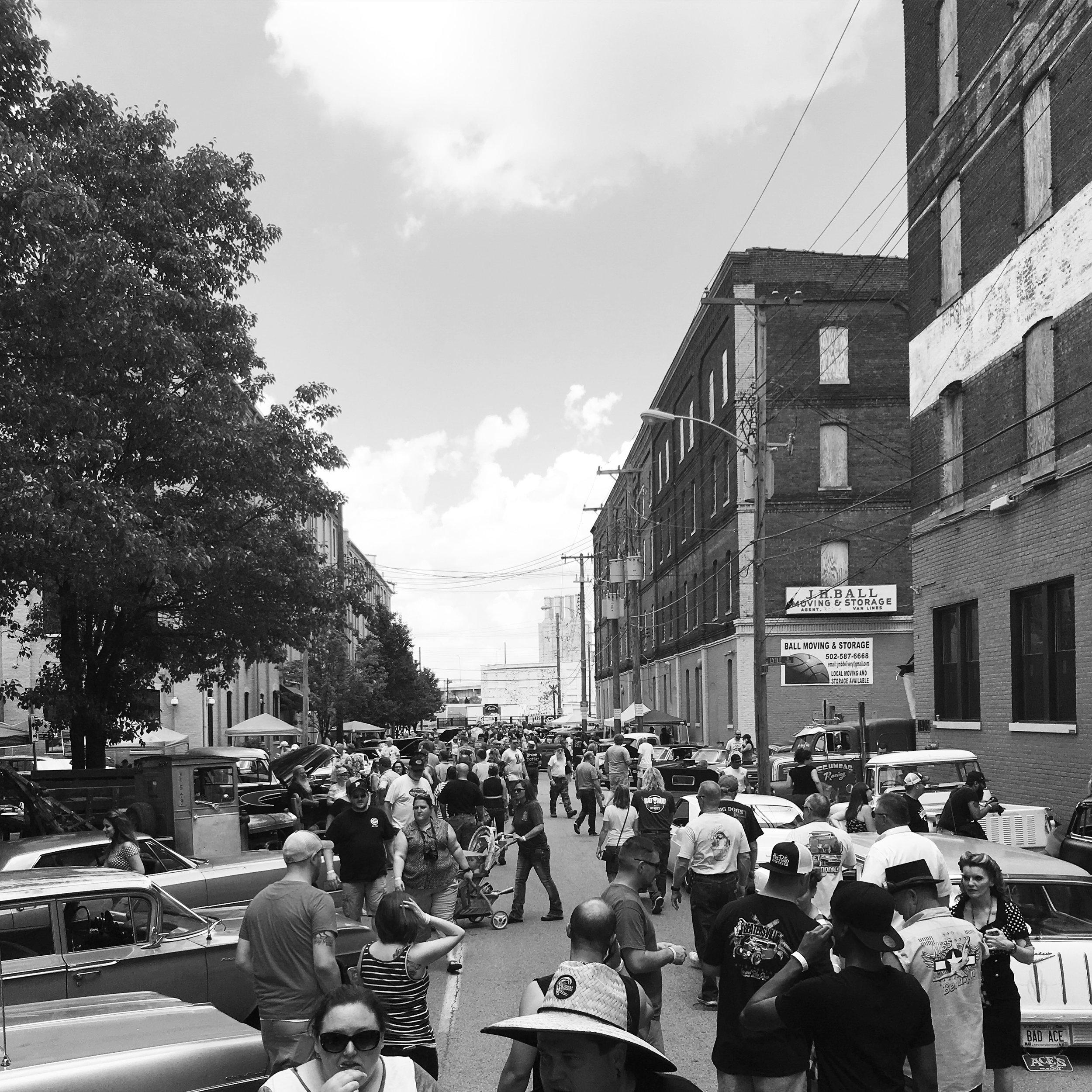 """Portland Car Show"" by Adam Horton, 8x11in, photograph"