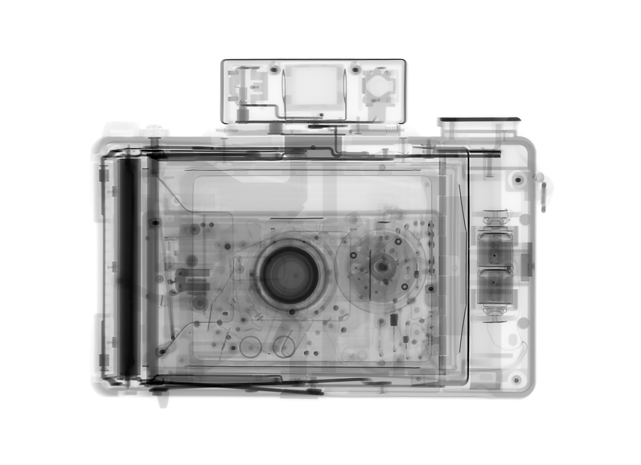 """Polaroid 440"" by Kent Krugh, 13x19in, x-ray archival pigment print (2016), $400 