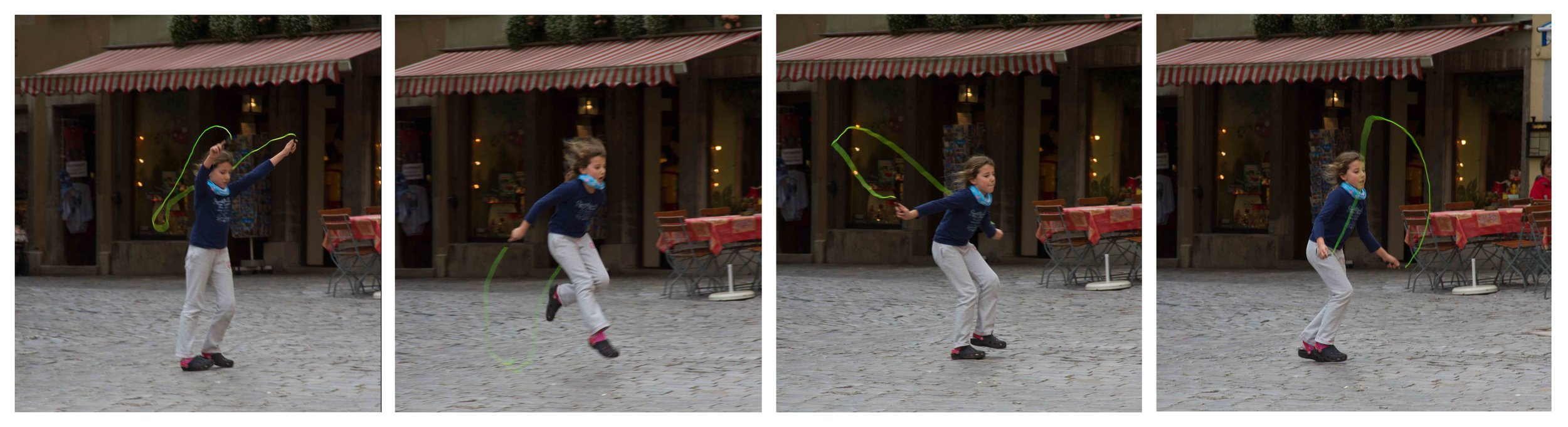 """""""Skipping"""" by Sid Webb, 10x27in, photograph (2011), $89 