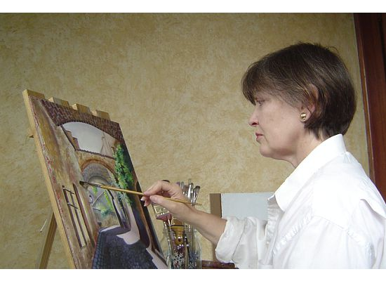 Painter, Carol Jones